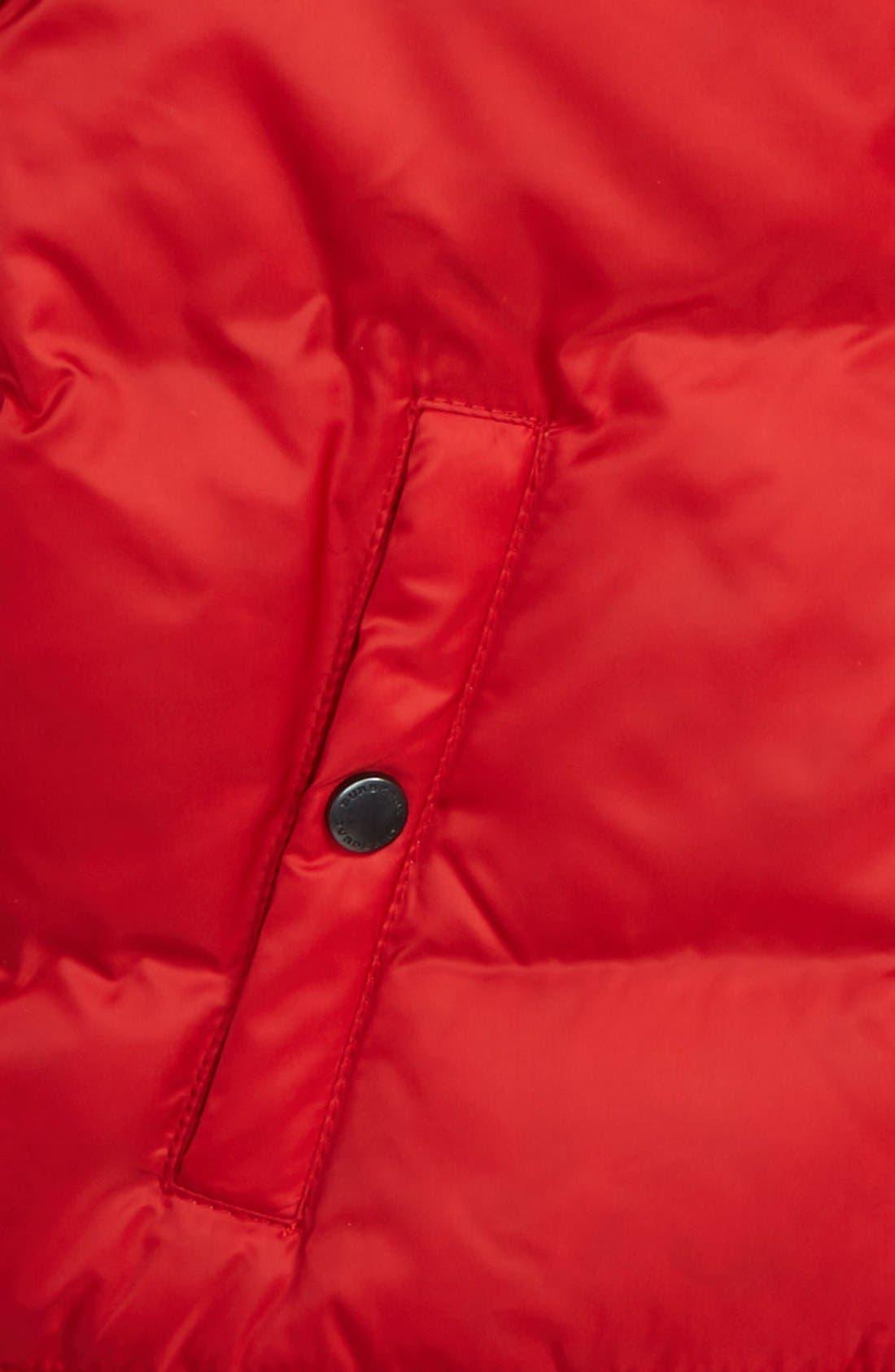 Alternate Image 2  - Burberry Rio Hooded Puffer Jacket (Baby Girls)