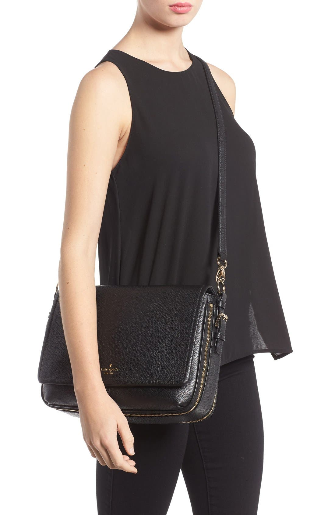 Alternate Image 2  - kate spade new york cobble hill - mayra leather crossbody bag