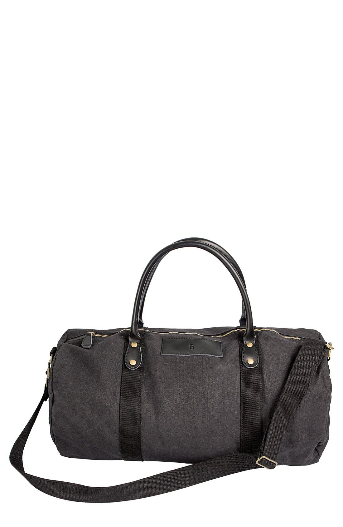Main Image - Cathy's Concepts Monogram Duffel Bag