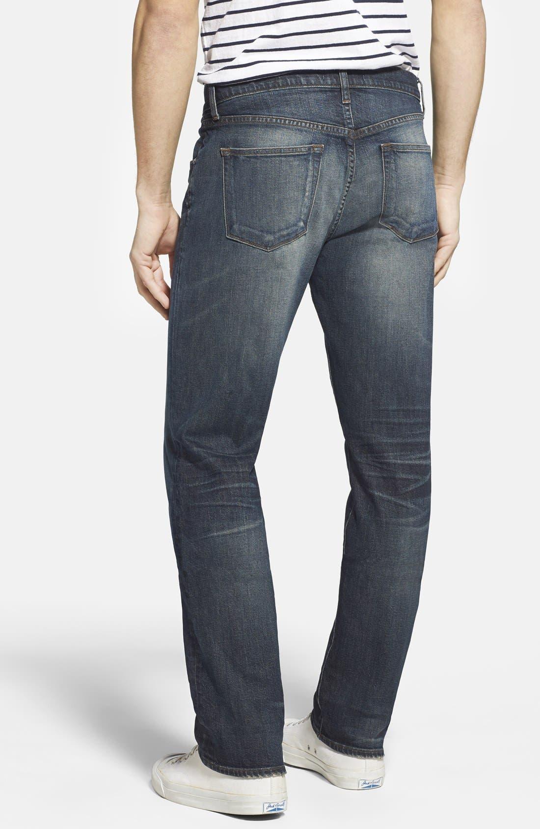 Alternate Image 2  - J Brand 'Kane' Slim Straight Leg Jeans (Bronson)