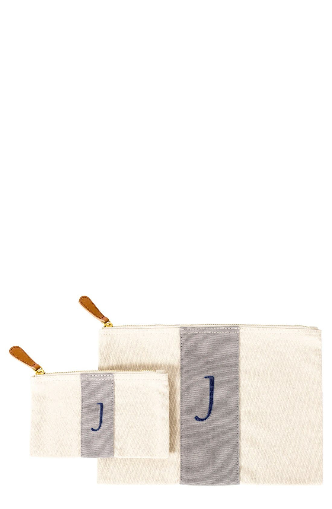 Cathy's Concepts Personalized Canvas Clutch