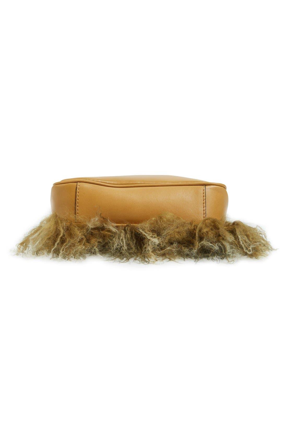 Alternate Image 6  - Patricia Nash Small Paulo Genuine Shearling Crossbody Bag