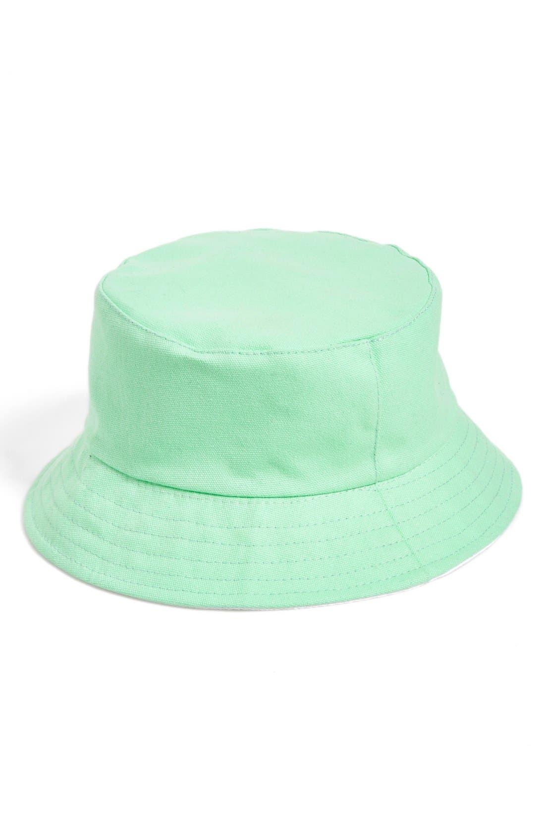 Alternate Image 1 Selected - Amici Accessories Reversible Bucket Hat (Juniors)