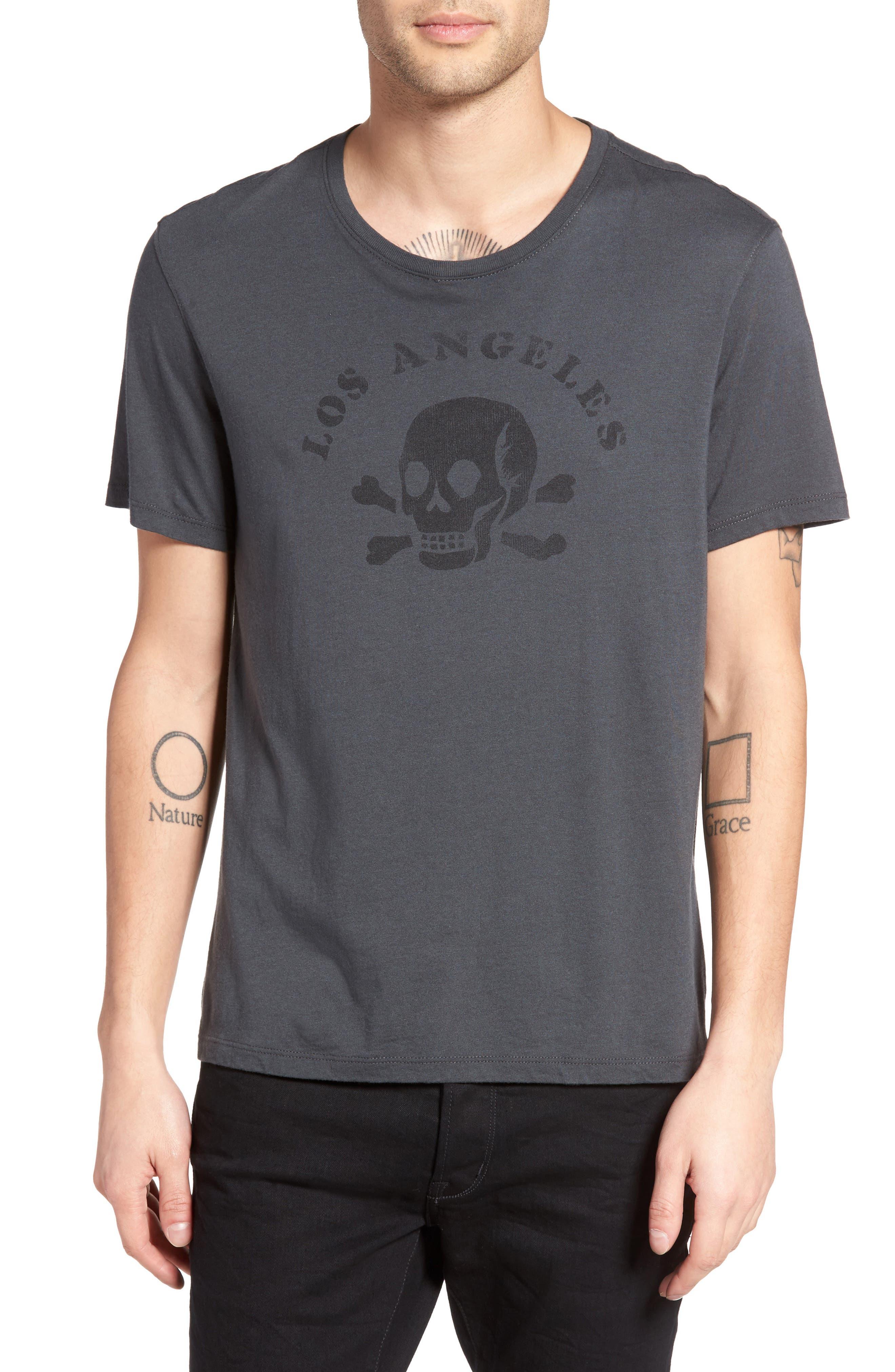 JOHN VARVATOS STAR USA Los Angeles Skull Graphic
