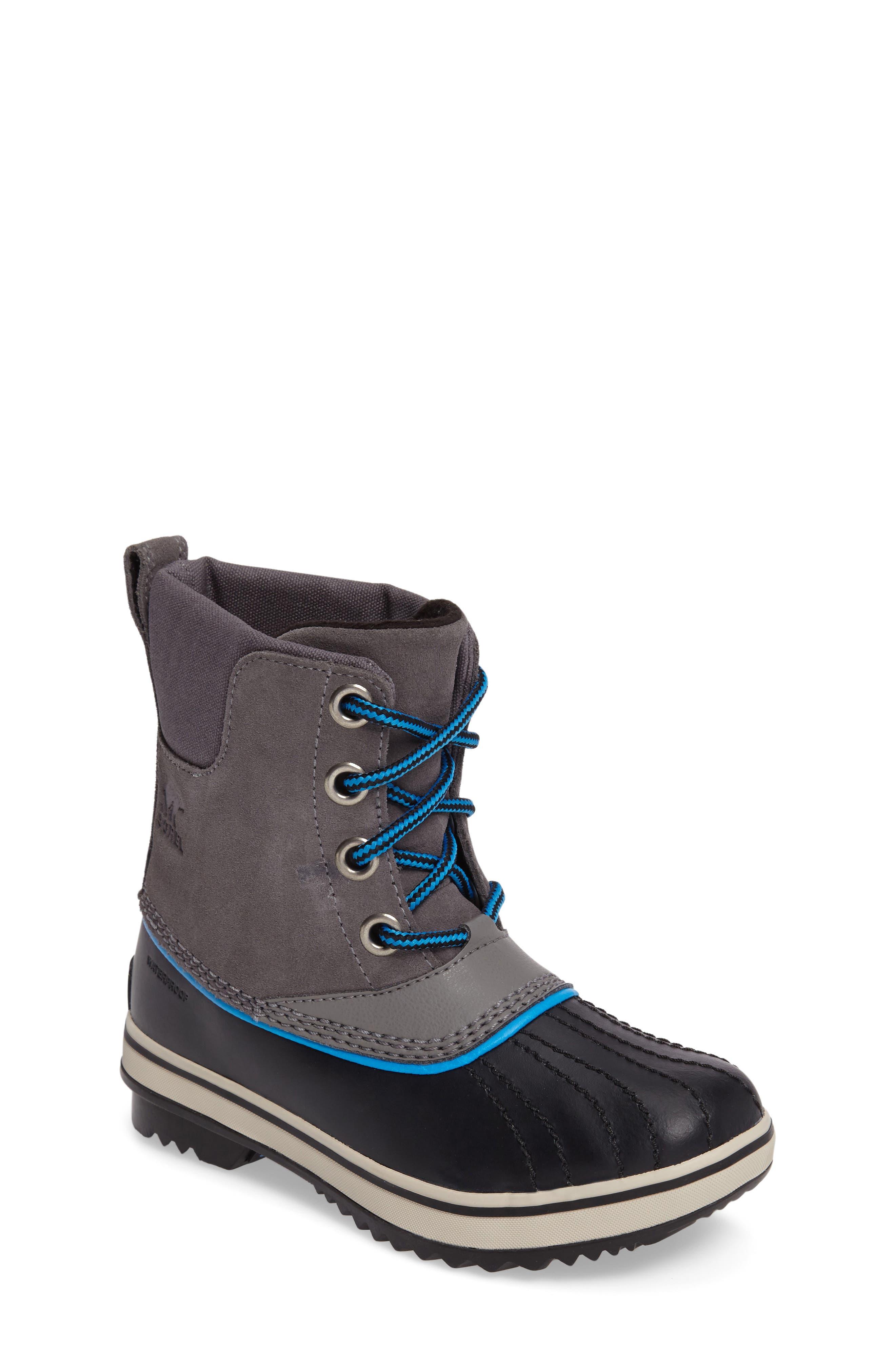 Alternate Image 1 Selected - SOREL 'Slimpack II' Waterproof Boot (Little Kid & Big Kid)