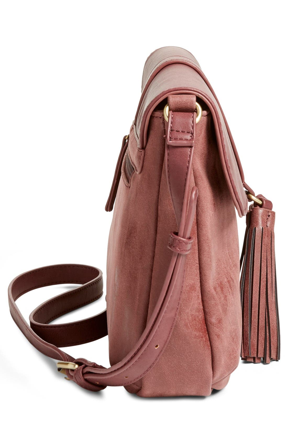 Alternate Image 5  - Emperia Saydie Tassel Faux Leather Crossbody Bag (Special Purchase)