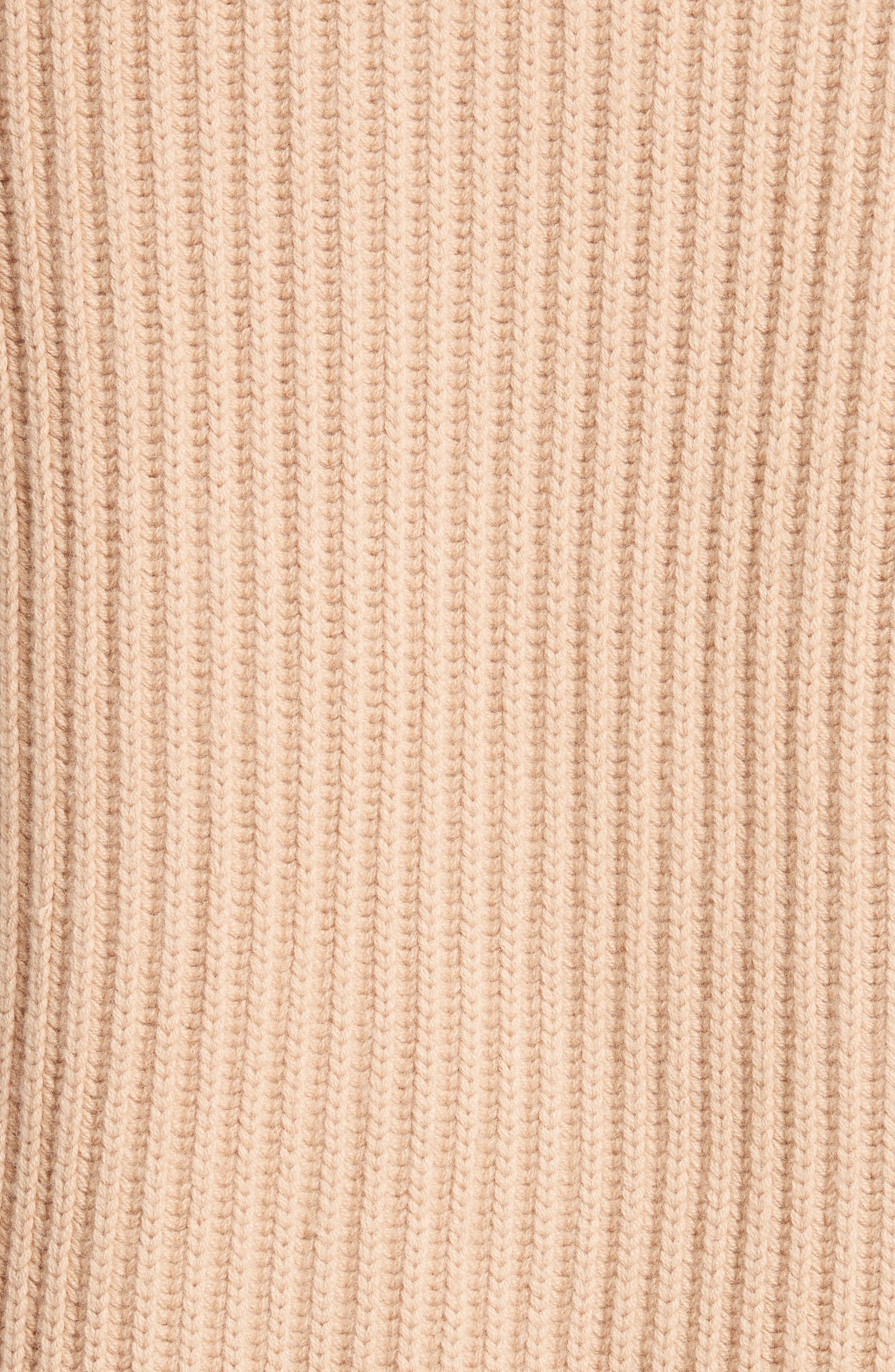 Alternate Image 5  - Vince Wool & Cashmere Knit Car Coat