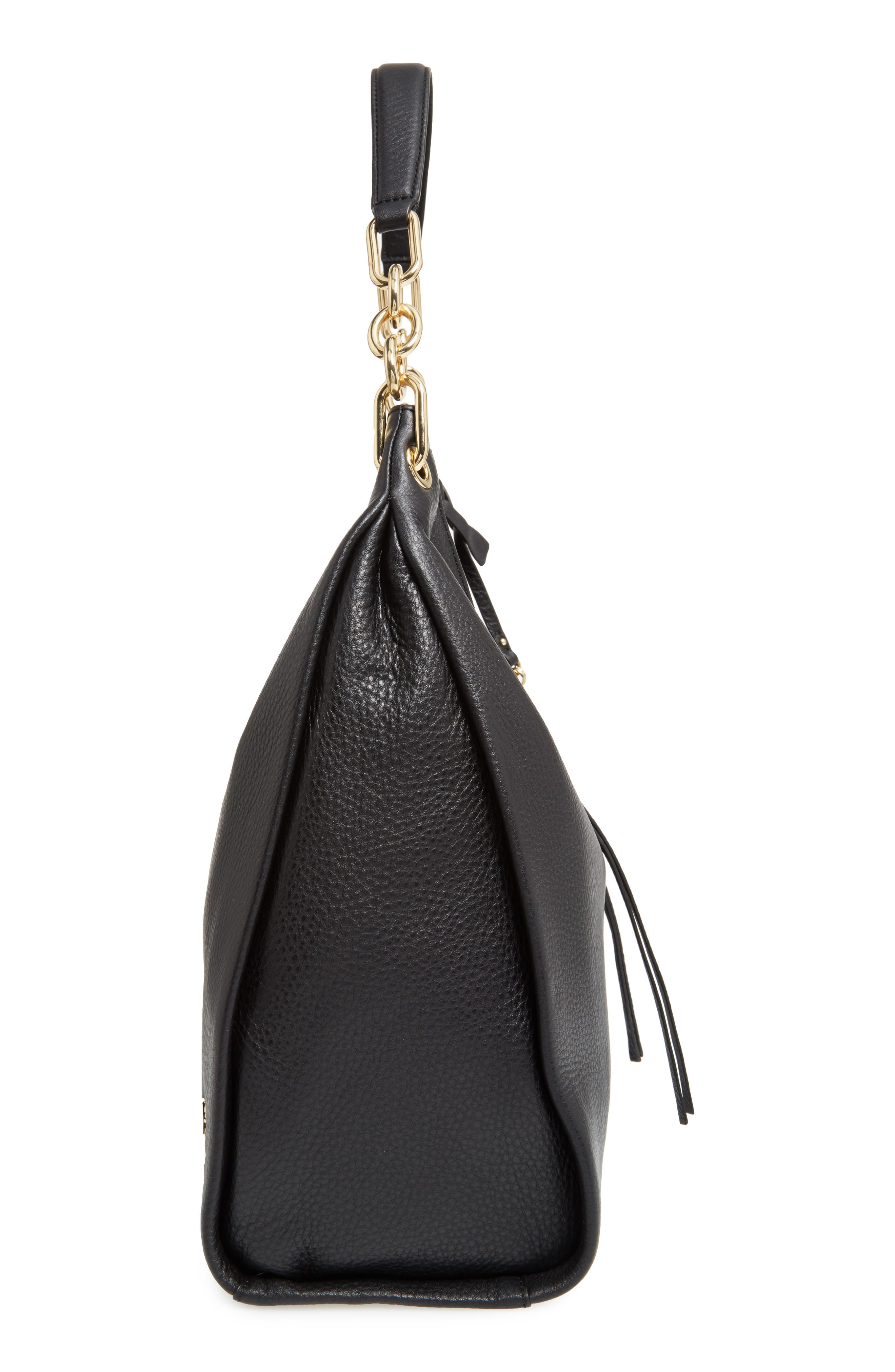 Alternate Image 4  - Vince Camuto Avin Leather Hobo