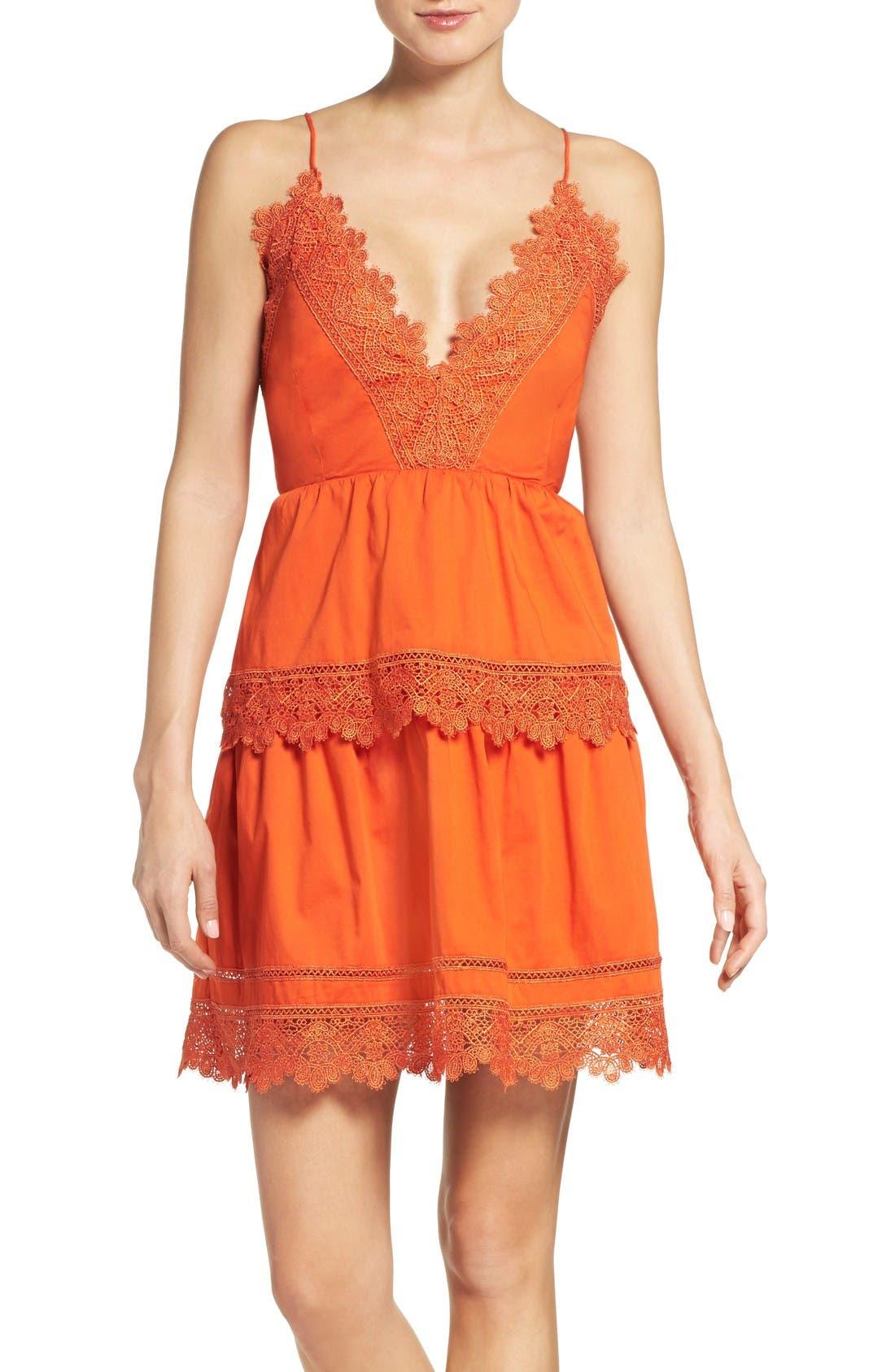 Alternate Image 1 Selected - Bardot Sophia Peplum Dress
