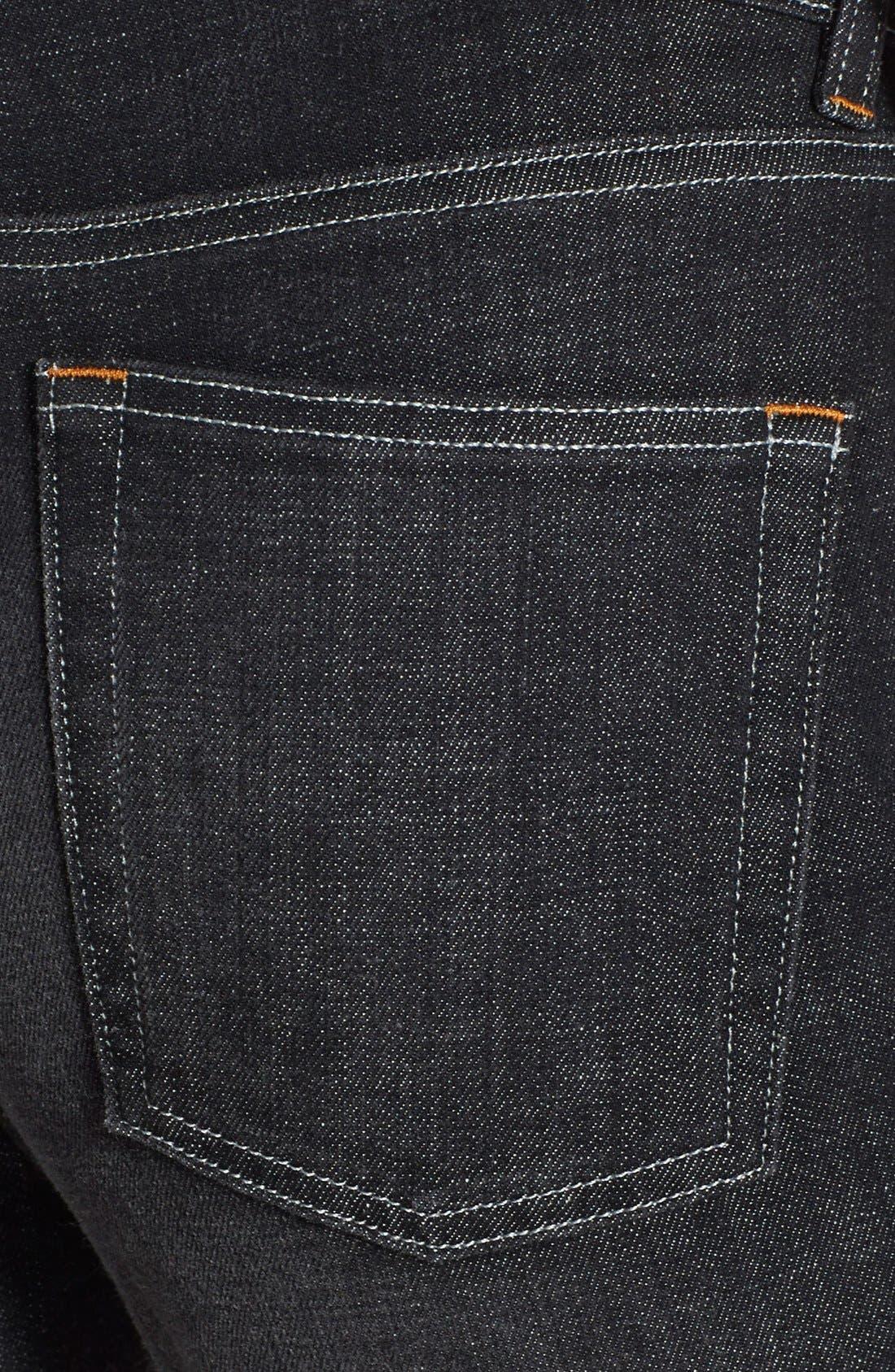 Alternate Image 3  - Eileen Fisher Organic Cotton Boyfriend Jeans (Plus Size)