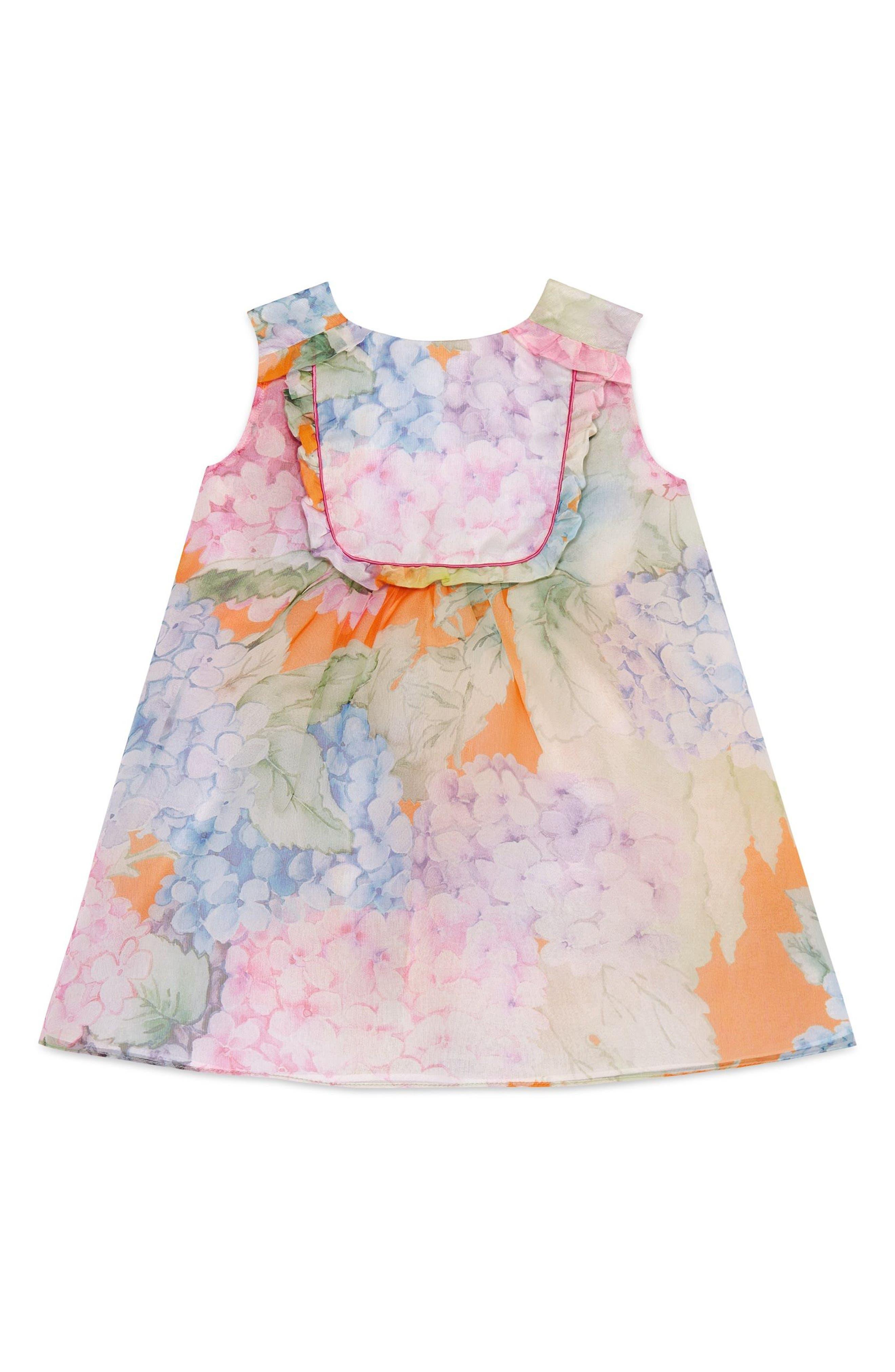 Gucci Sleeveless Silk Dress (Baby Girls & Toddler Girls)