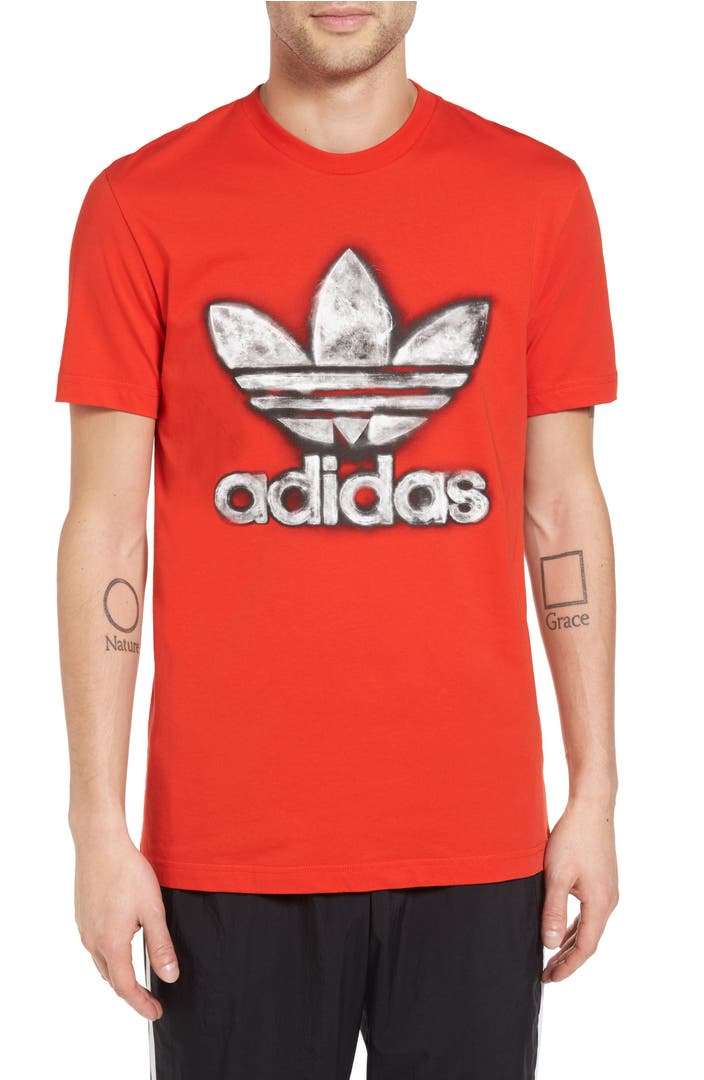 Adidas originals trefoil graphic t shirt nordstrom for Adidas trefoil t shirt