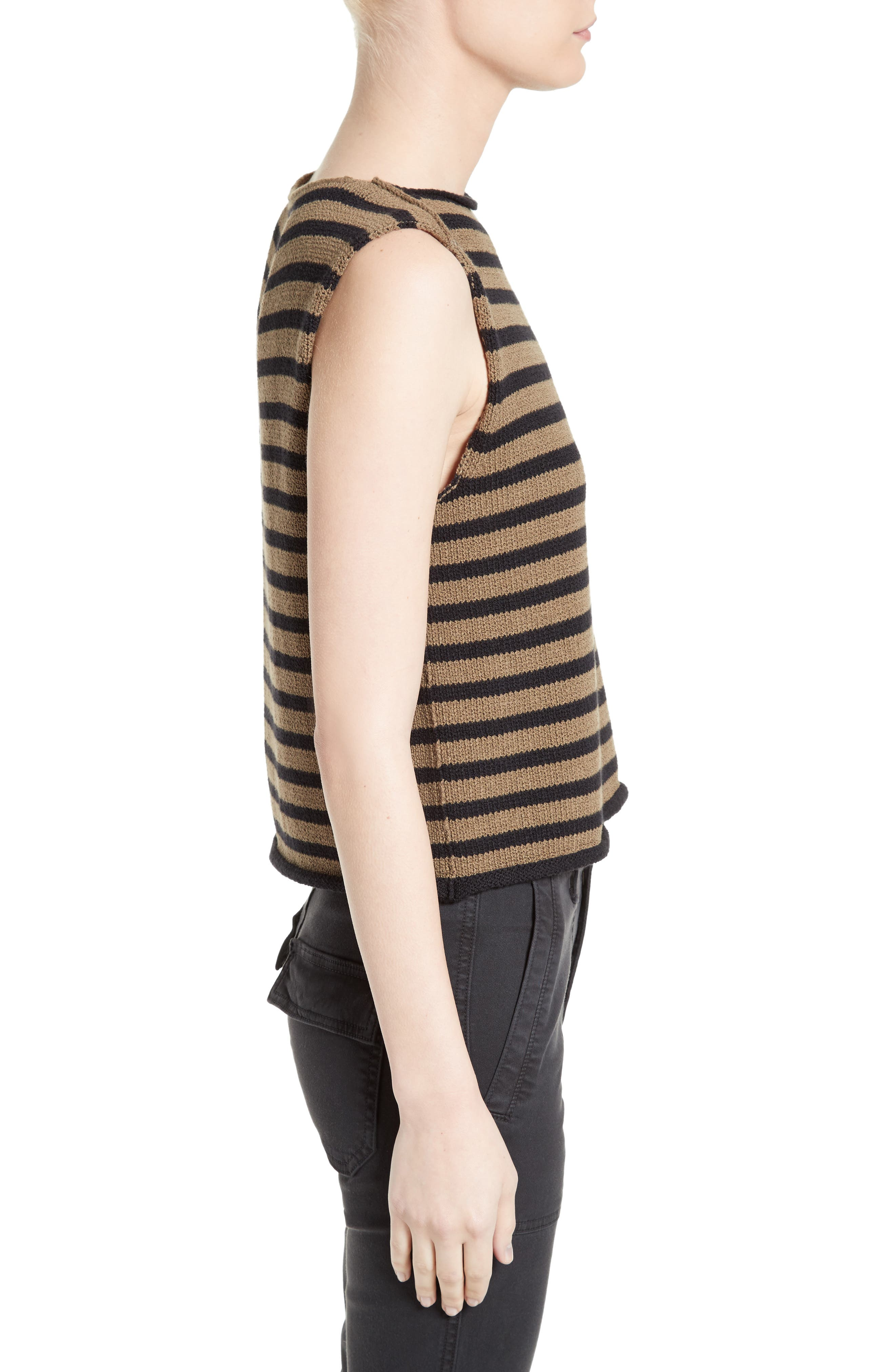 Alternate Image 3  - Vince Stripe Knit Tank
