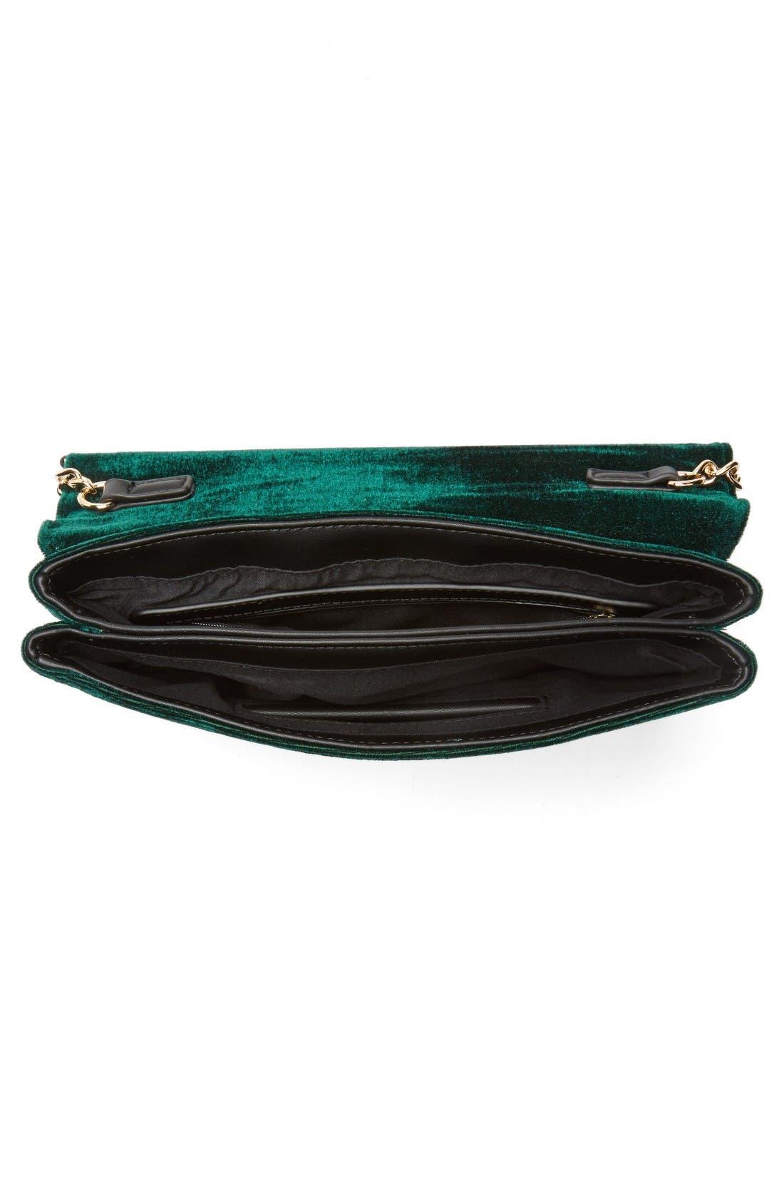 Alternate Image 4  - BP. Tassel Velvet Crossbody Bag