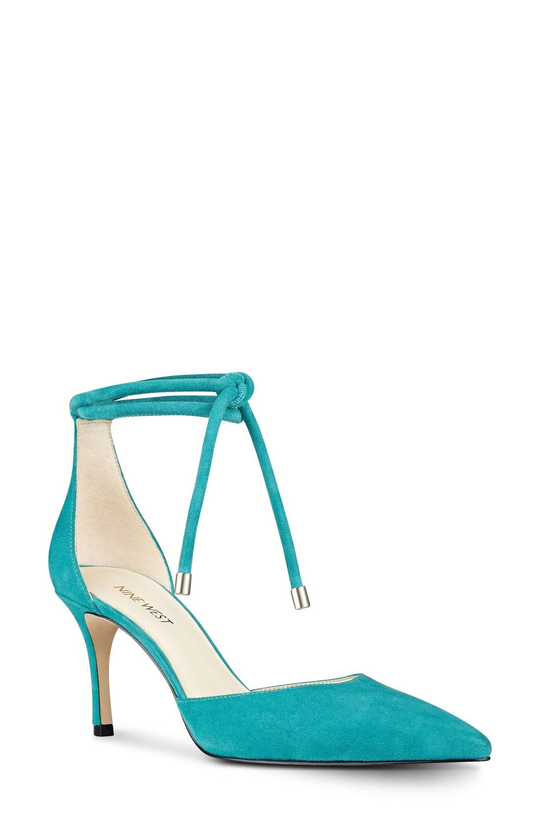 Nine West Millenio Ankle Wrap Pump (Women)