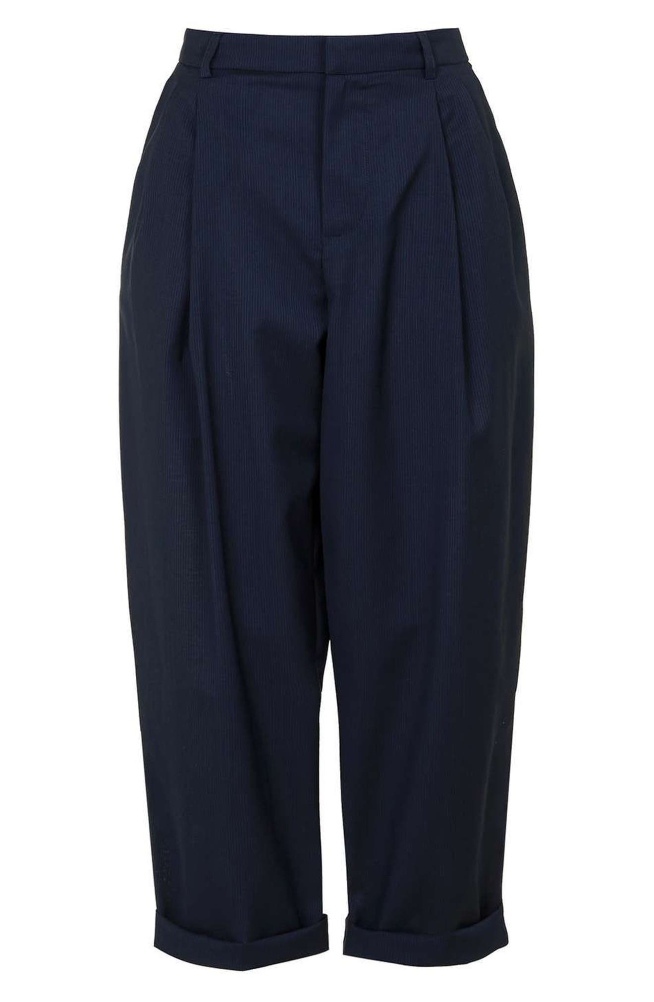 Alternate Image 5  - Topshop Boutique Wool Trousers