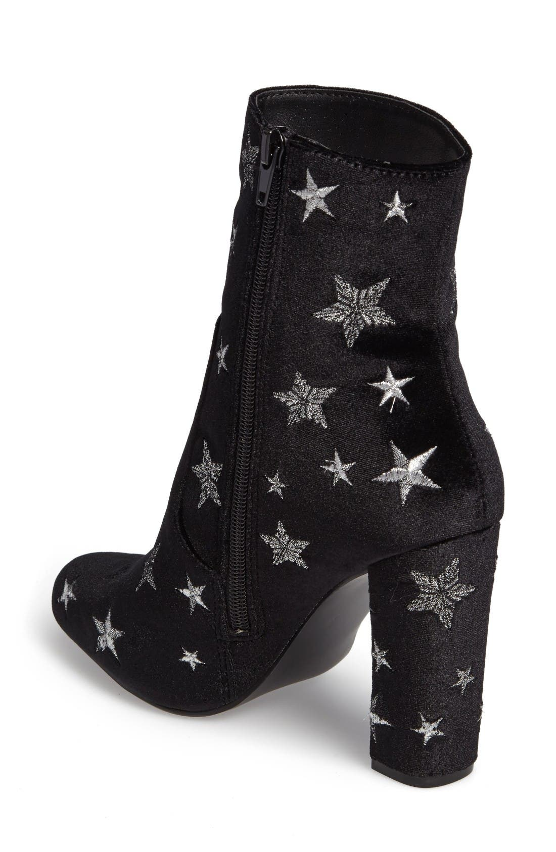 Alternate Image 2  - Steve Madden Edit Embroidered Star Bootie (Women)