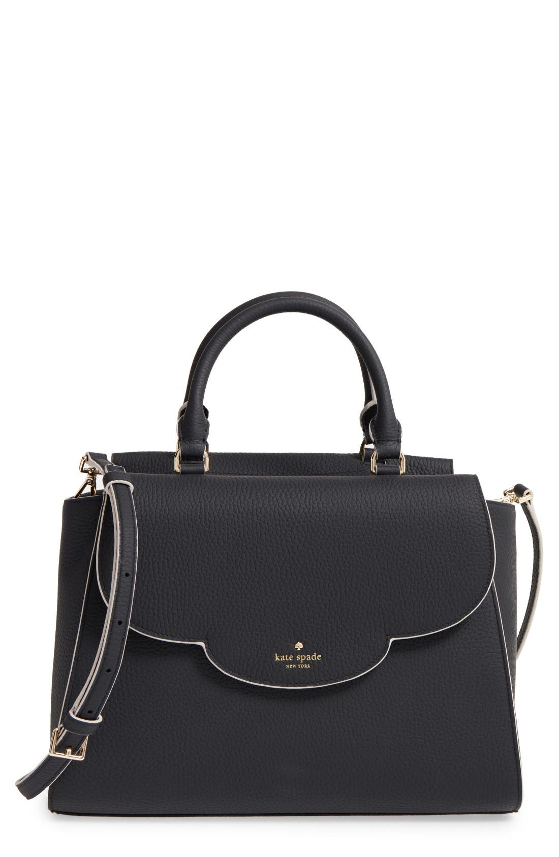Alternate Image 1 Selected - kate spade new york leewood place makayla leather satchel