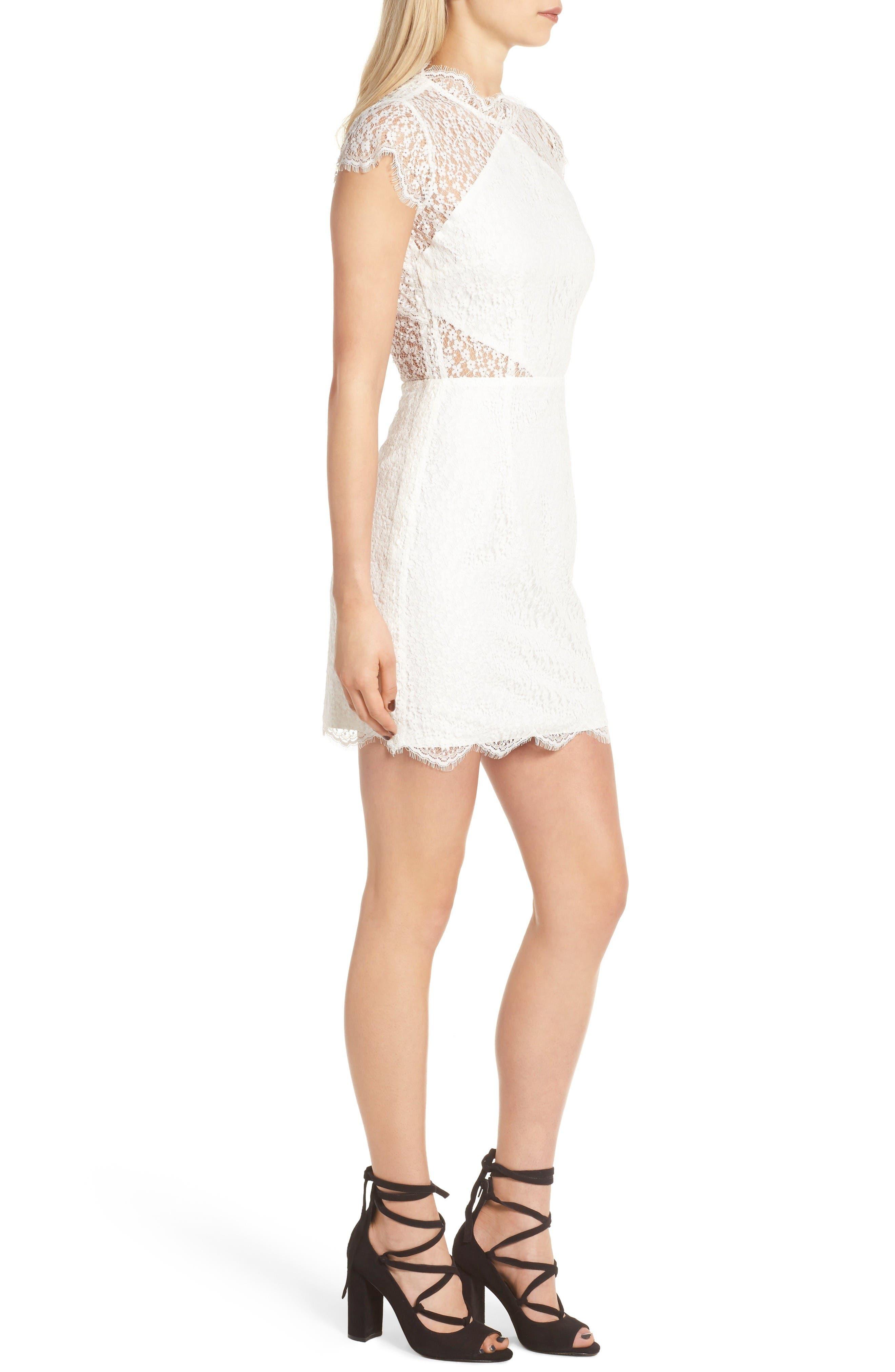 Alternate Image 4  - Keepsake the Label Daydream Lace Minidress