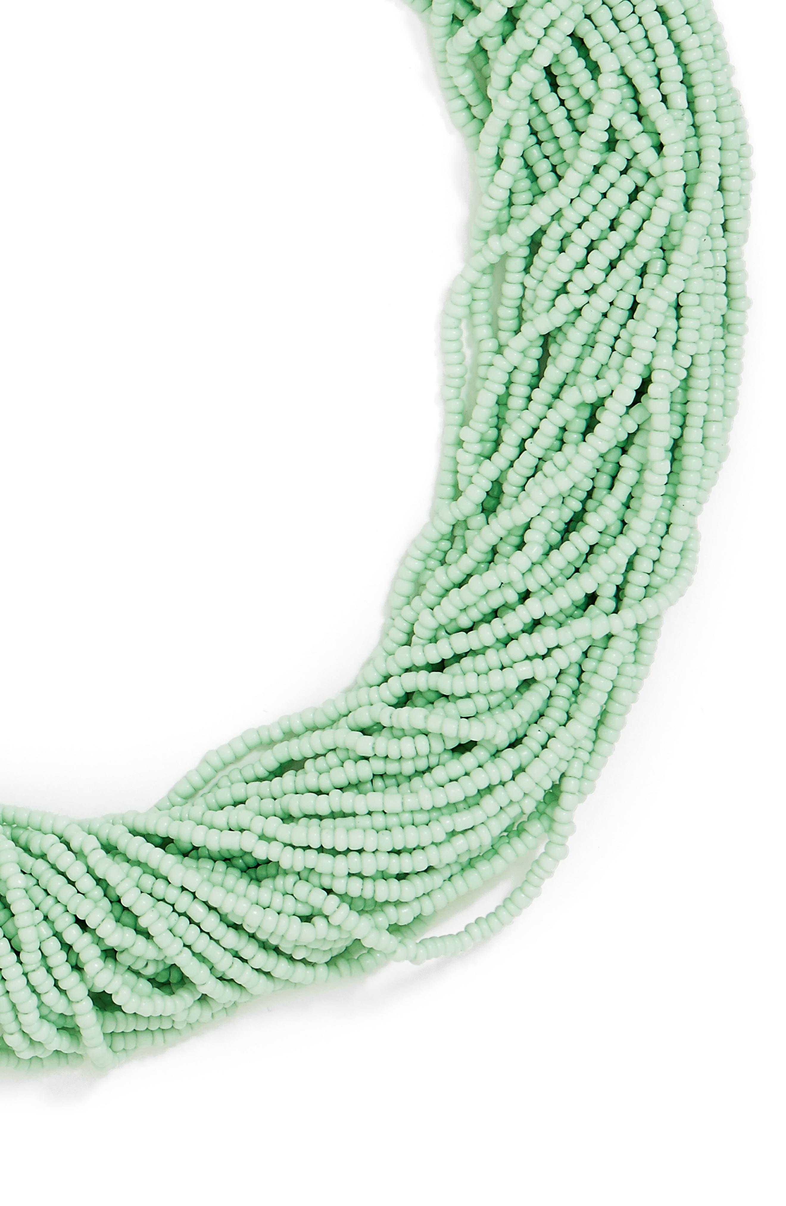 Alternate Image 2  - BaubleBar Myra Beaded Collar