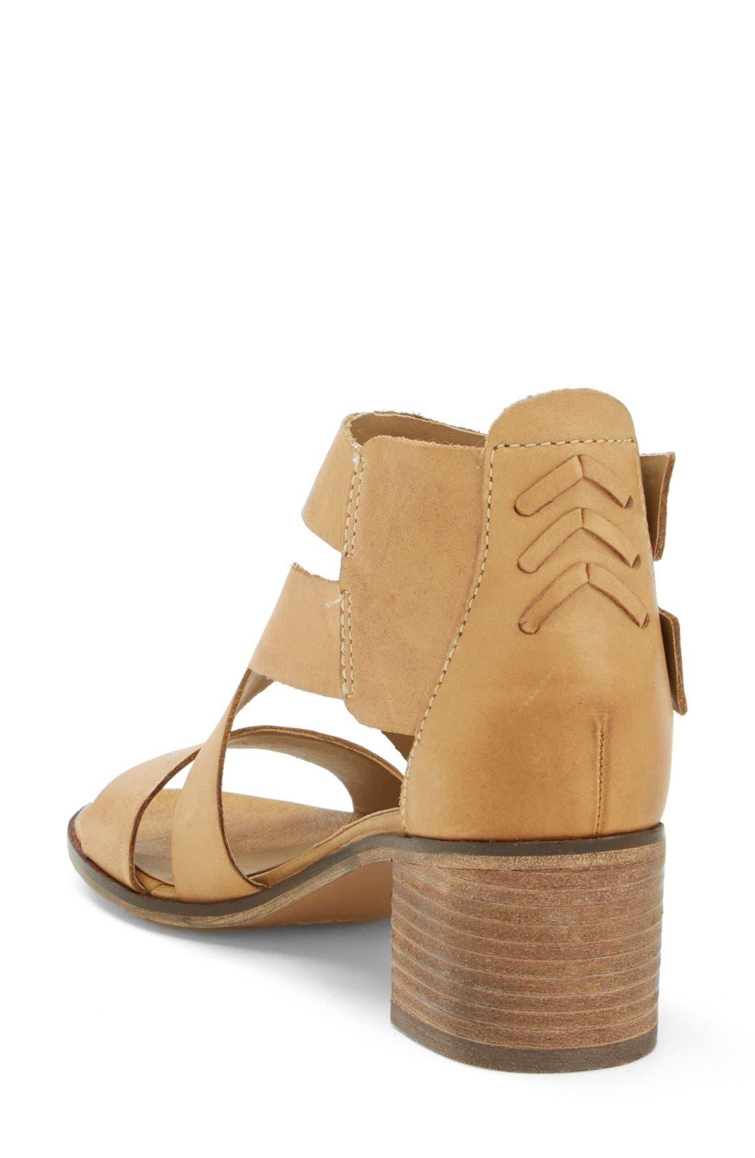 Alternate Image 2  - Steve Madden 'Rosana' Double Ankle Strap Leather Sandal (Women)