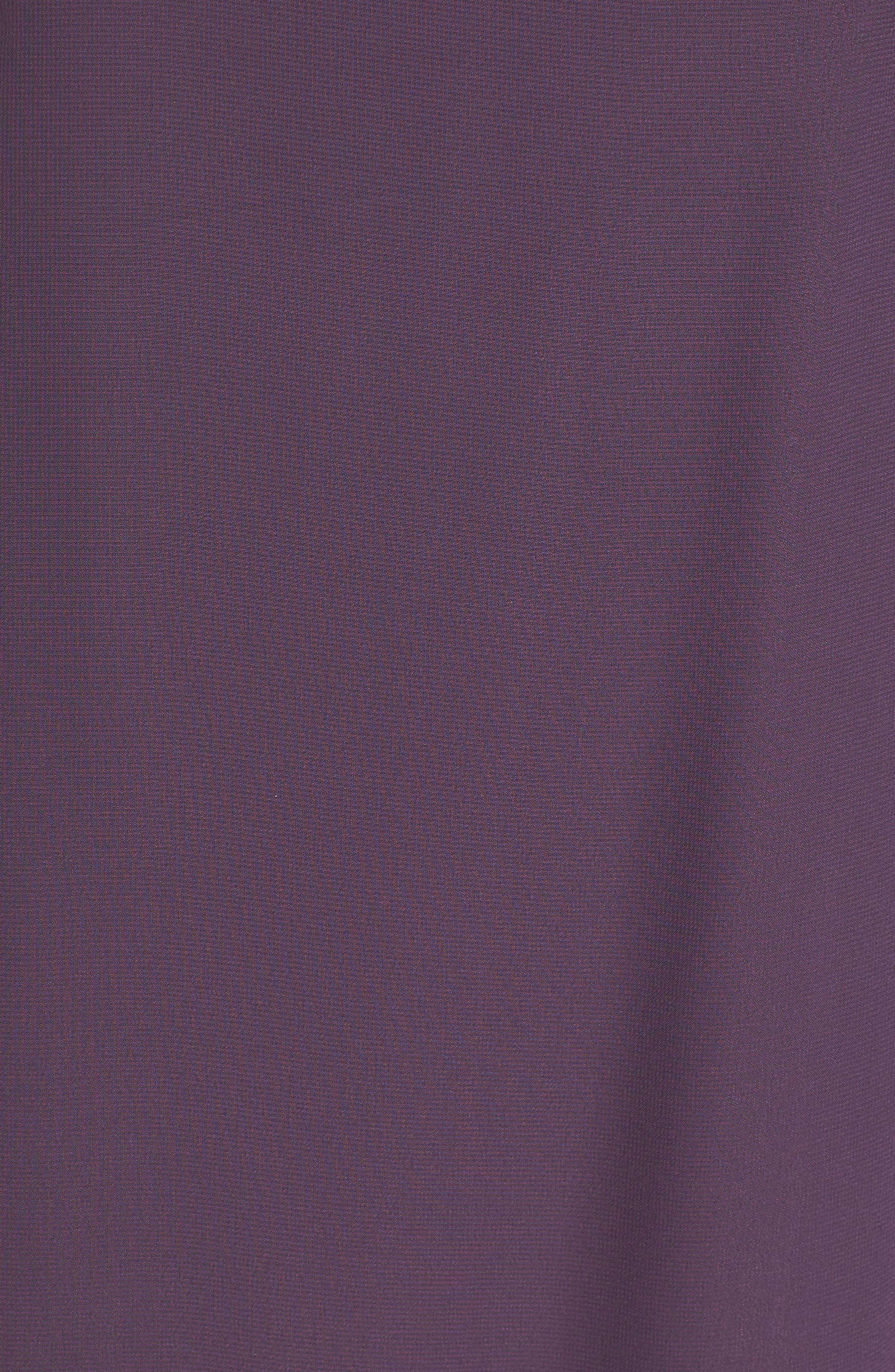 Alternate Image 5  - nouvelle AMSALE Hadley One-Shoulder Chiffon Gown