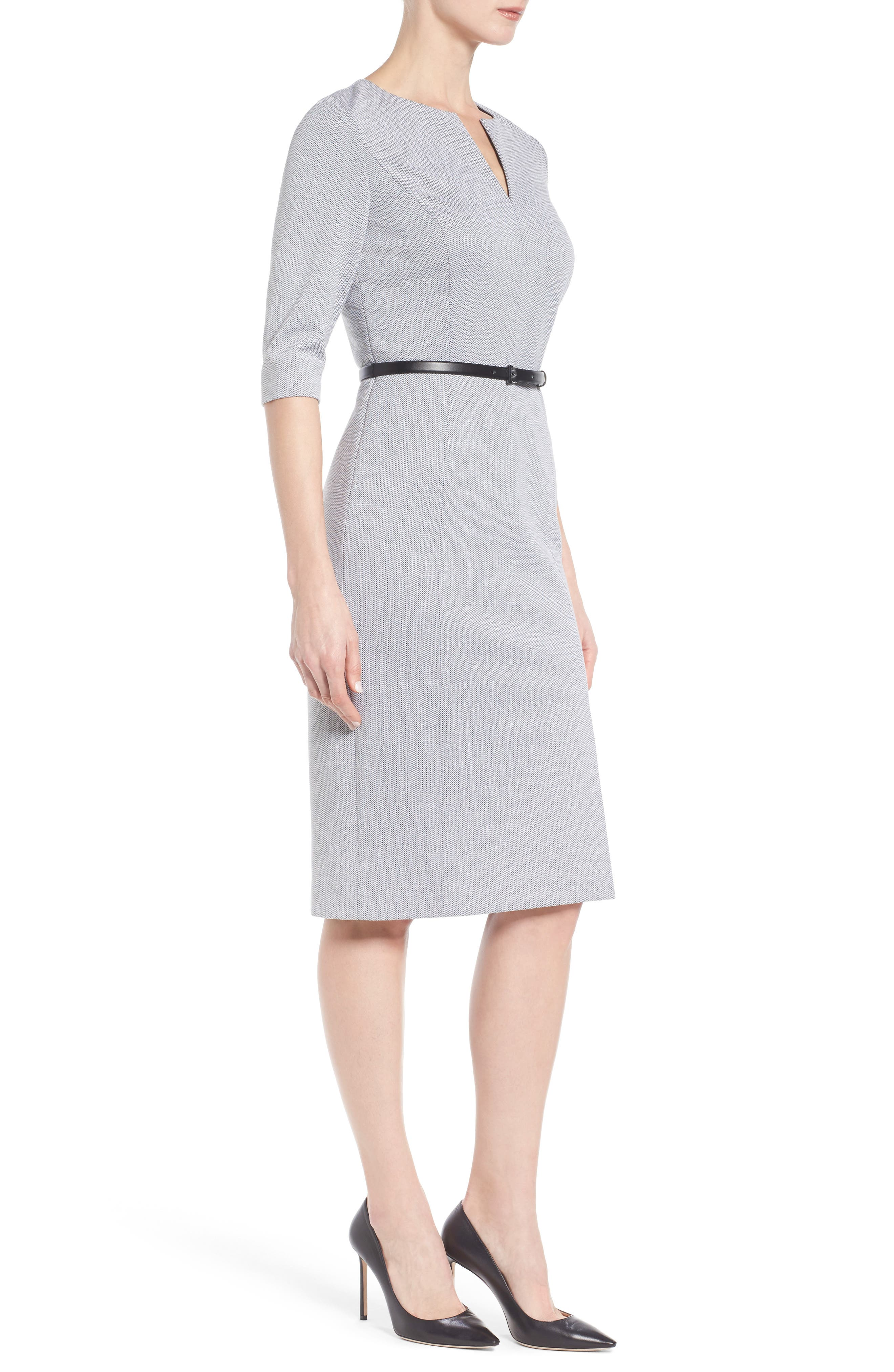 Alternate Image 3  - Classiques Entier® Stretch Knit Sheath Dress