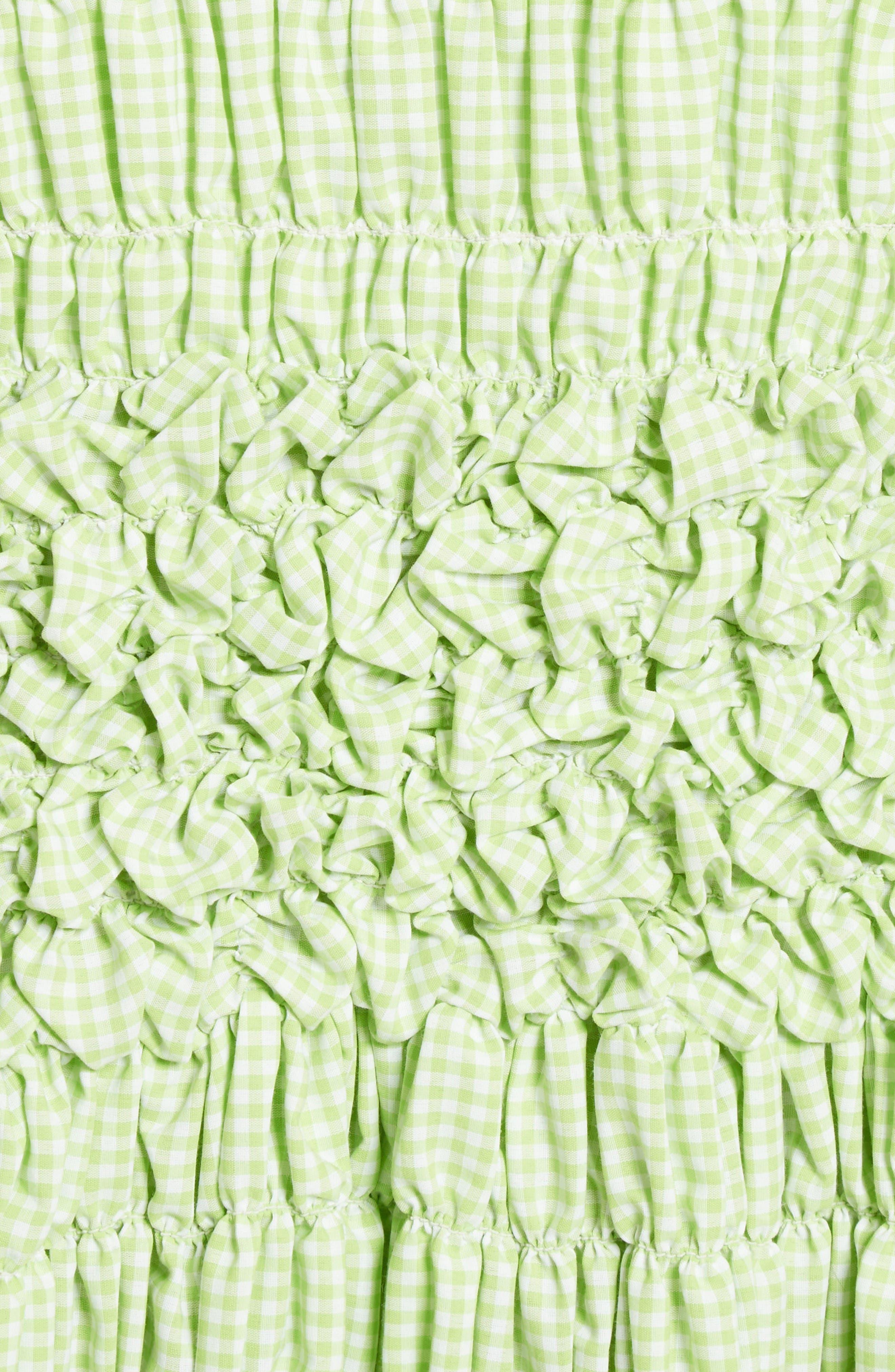 Alternate Image 3  - Molly Goddard Olga Mini Dress