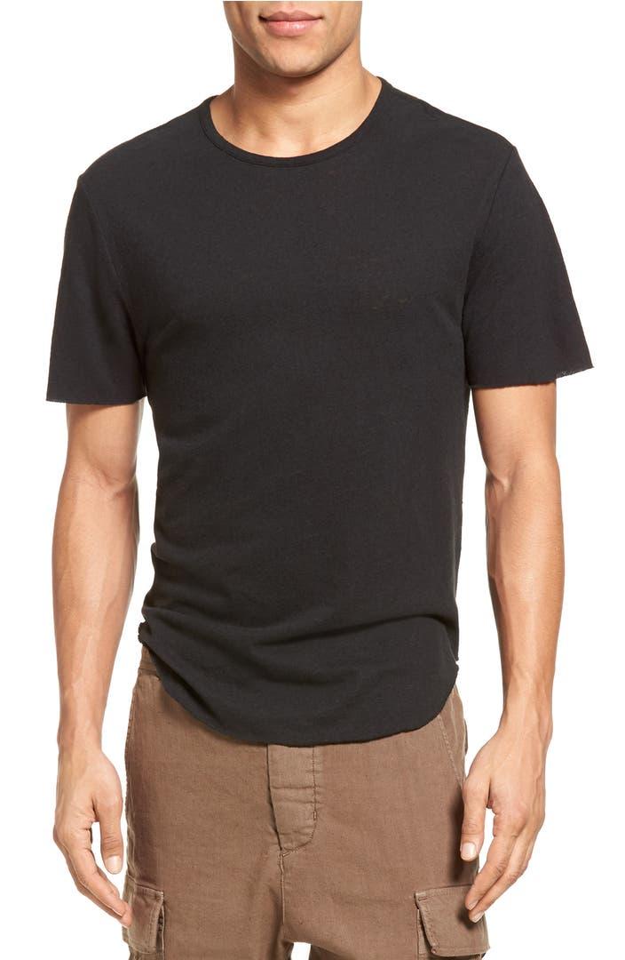 Vince raw hem t shirt nordstrom for Vince tee shirts sale