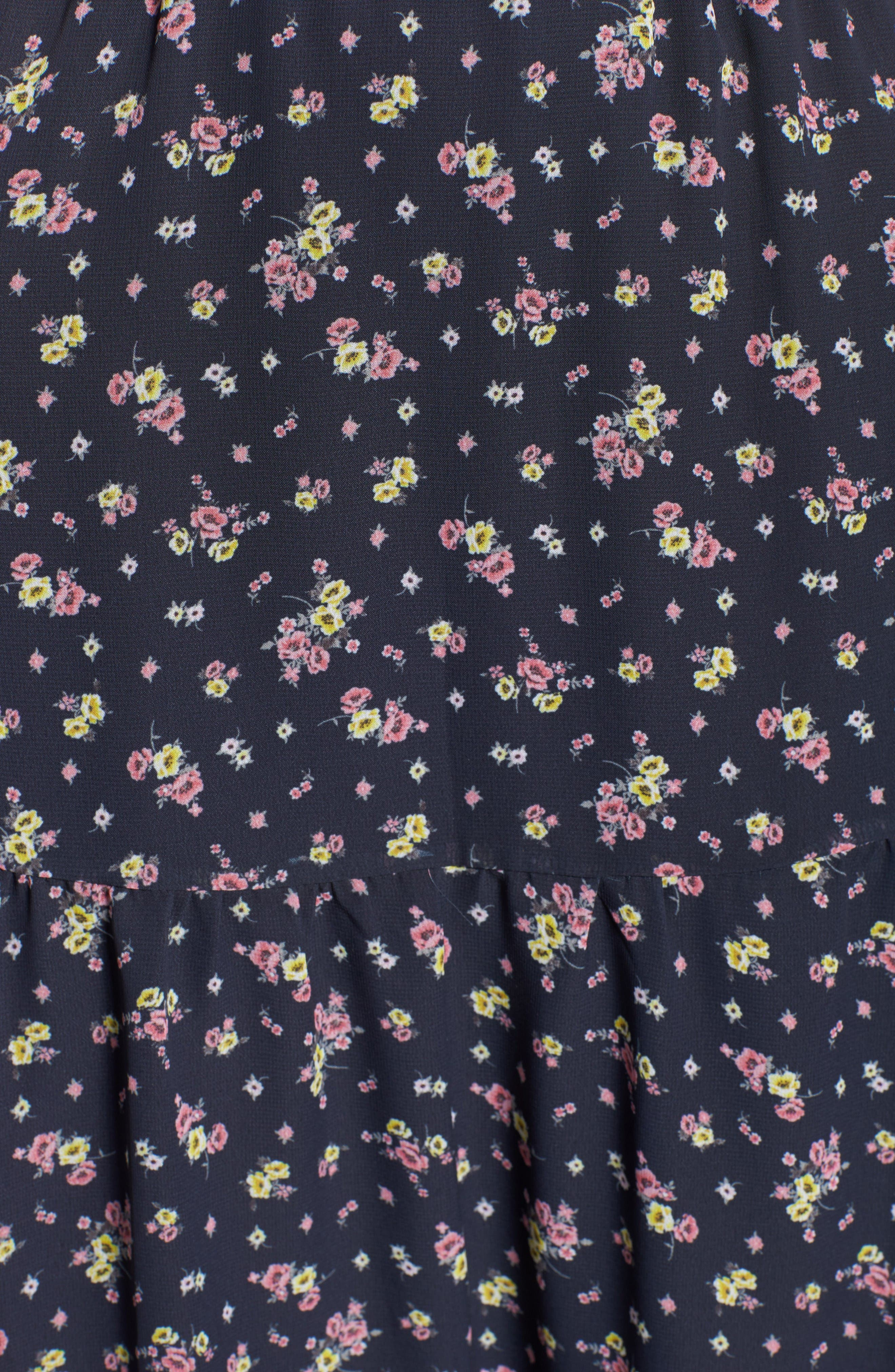 Alternate Image 5  - BP. Floral Print Maxi Skirt