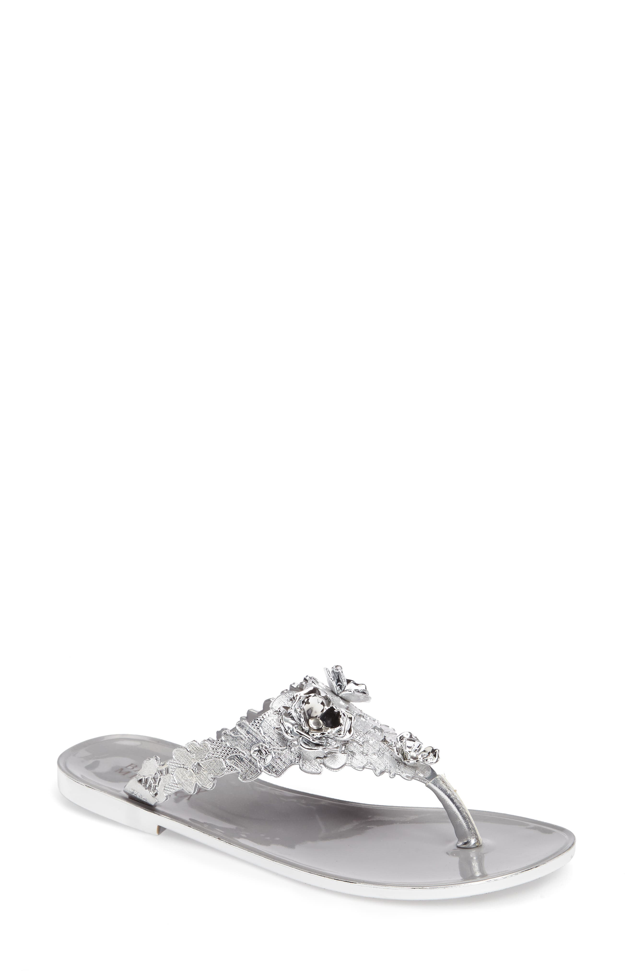 Badgley Mischka Bali Jelly Flip Flop (Women)