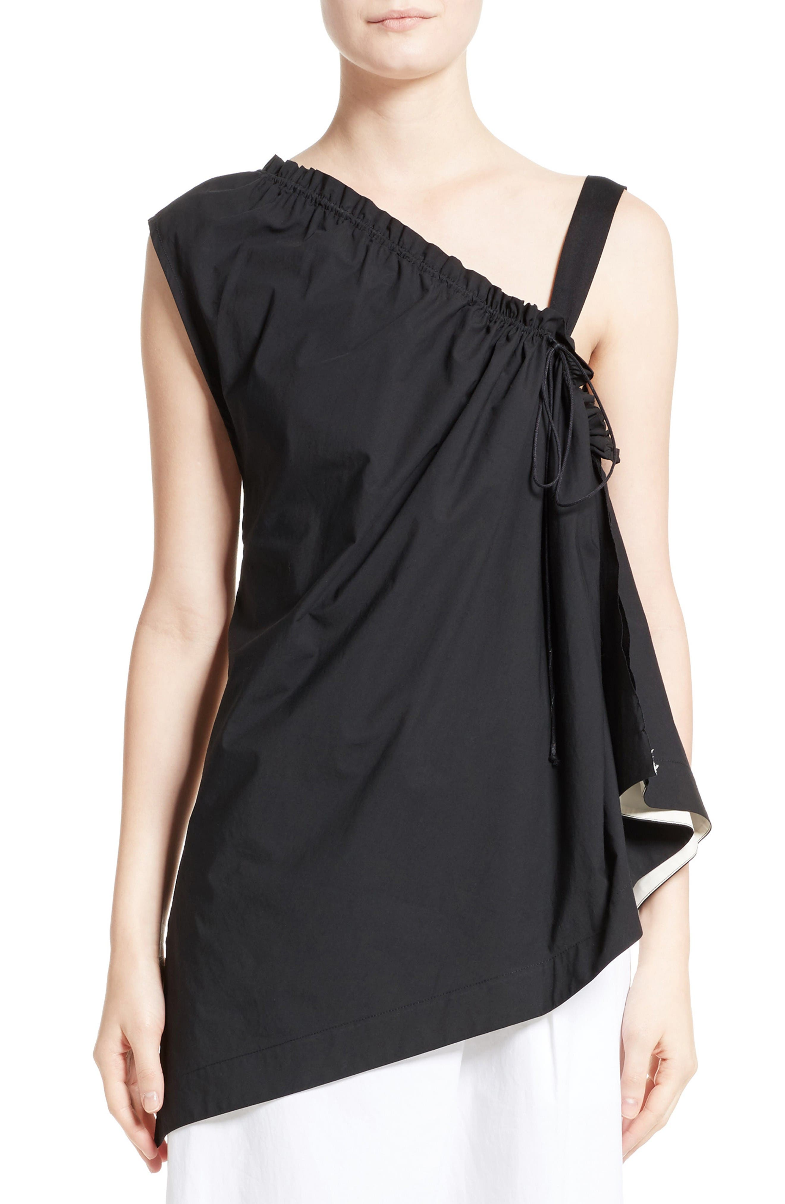 Alternate Image 1 Selected - Colovos Ruched Single Strap Top
