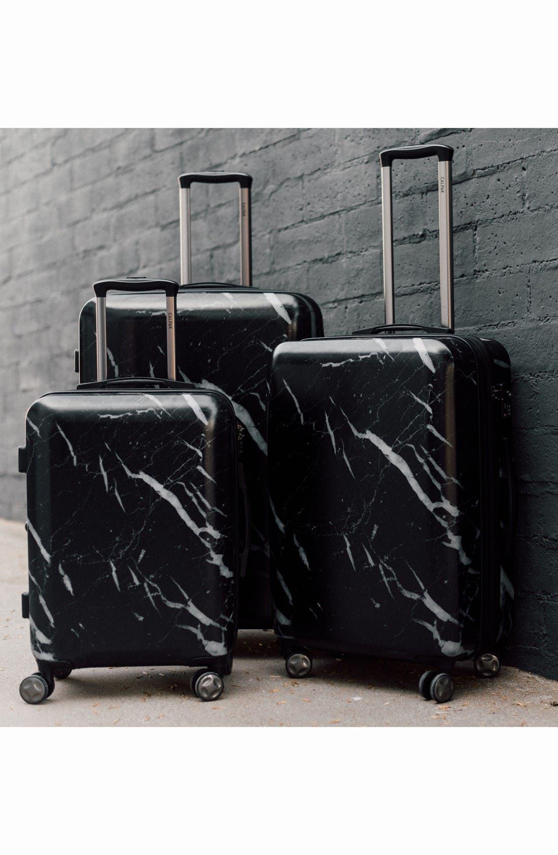 Alternate Image 7  - CALPAK Astyll 3-Piece Marbled Luggage Set