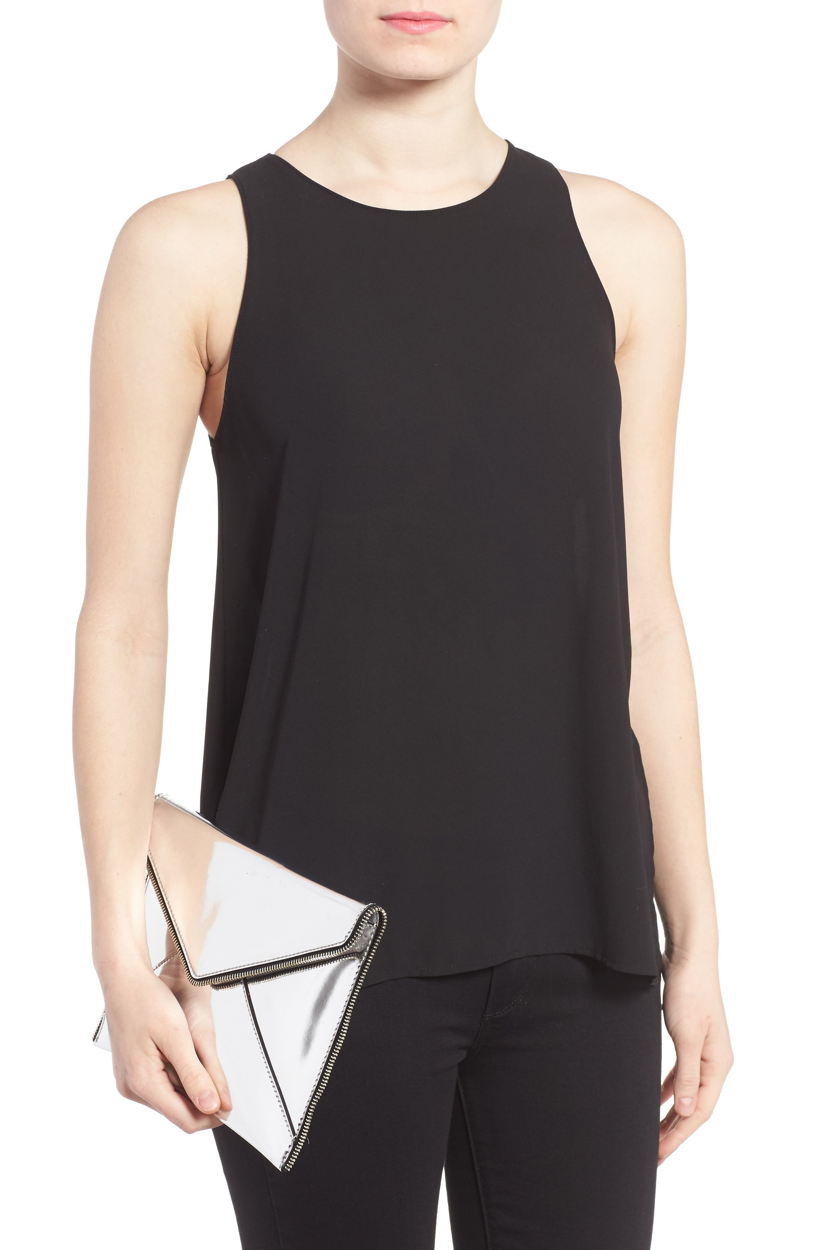Alternate Image 2  - Rebecca Minkoff Mirrored Leo Clutch