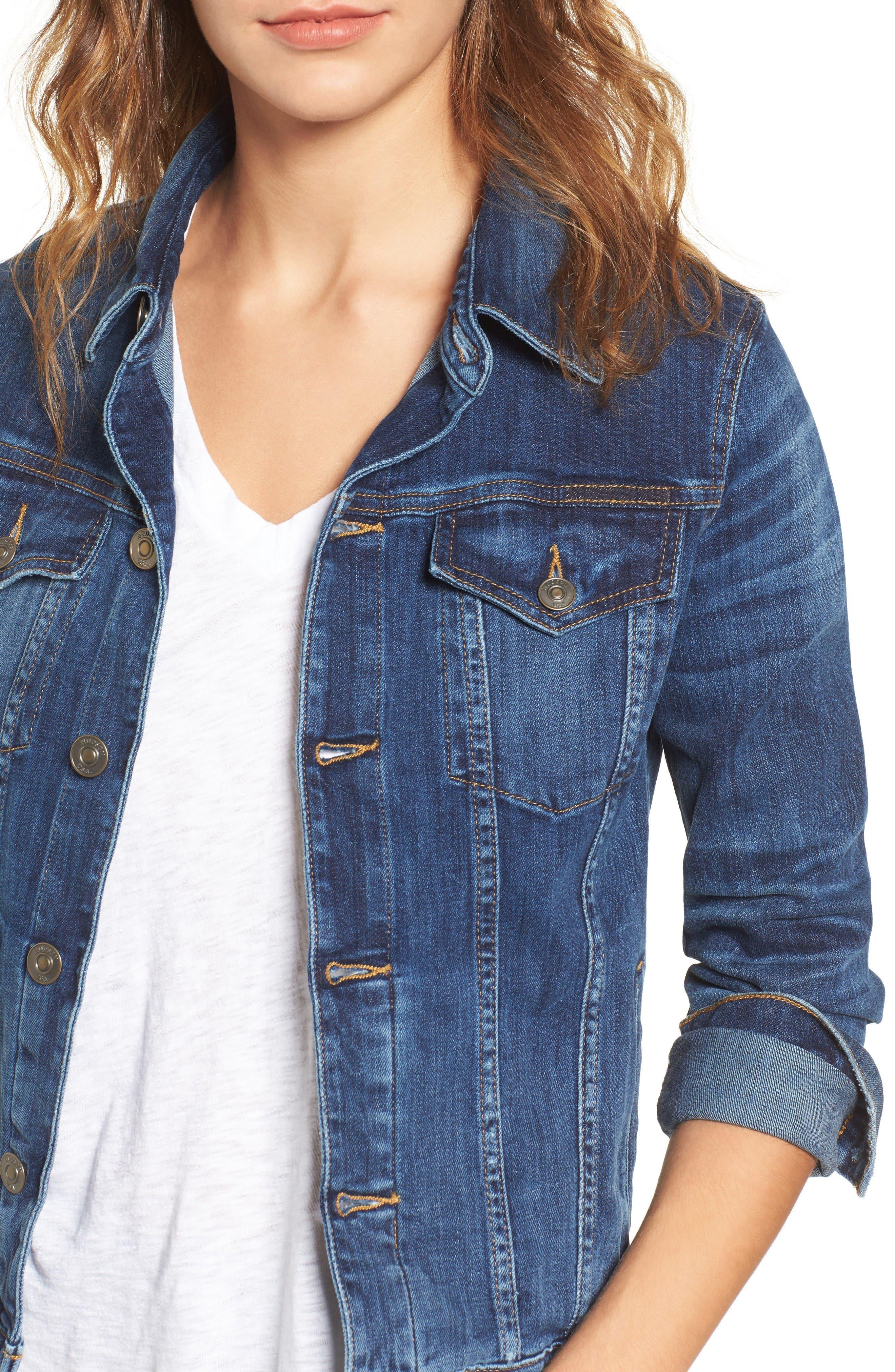 Alternate Image 4  - Hudson Jeans The Classic Denim Jacket