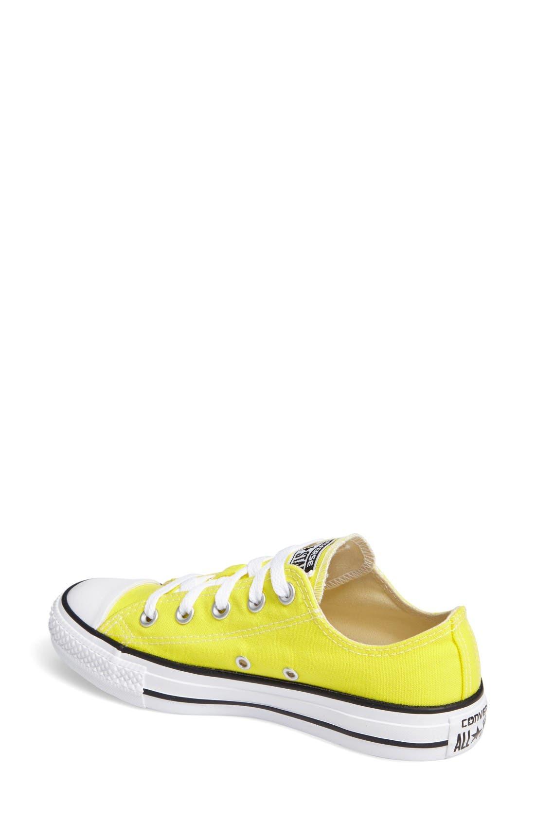 Alternate Image 2  - Converse Chuck Taylor® All Star® Seasonal Ox Low Top Sneaker (Women)