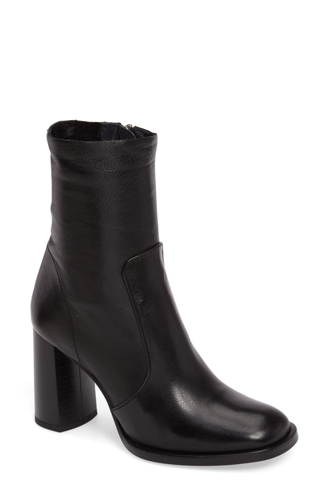 Alternate Image 1 Selected - Topshop Maple Sock Boot (Women)