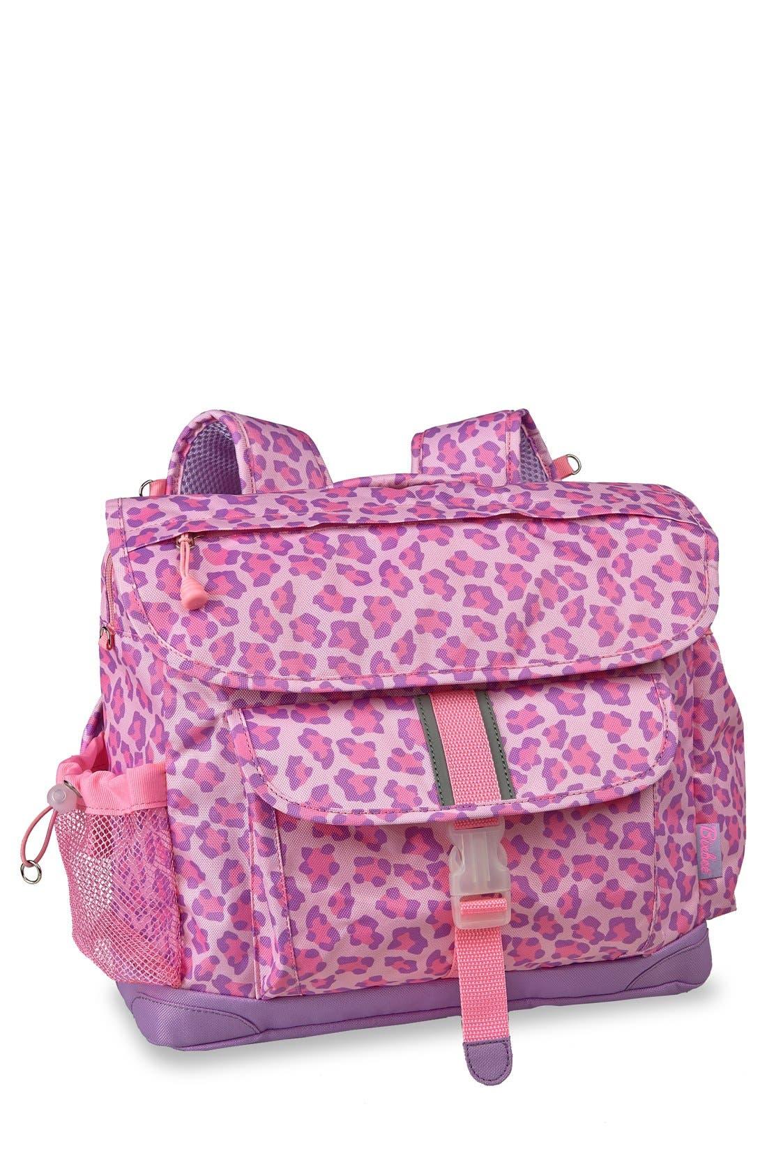 Alternate Image 1 Selected - Bixbee 'Large Sassy Spots' Leopard Print Backpack (Kids)