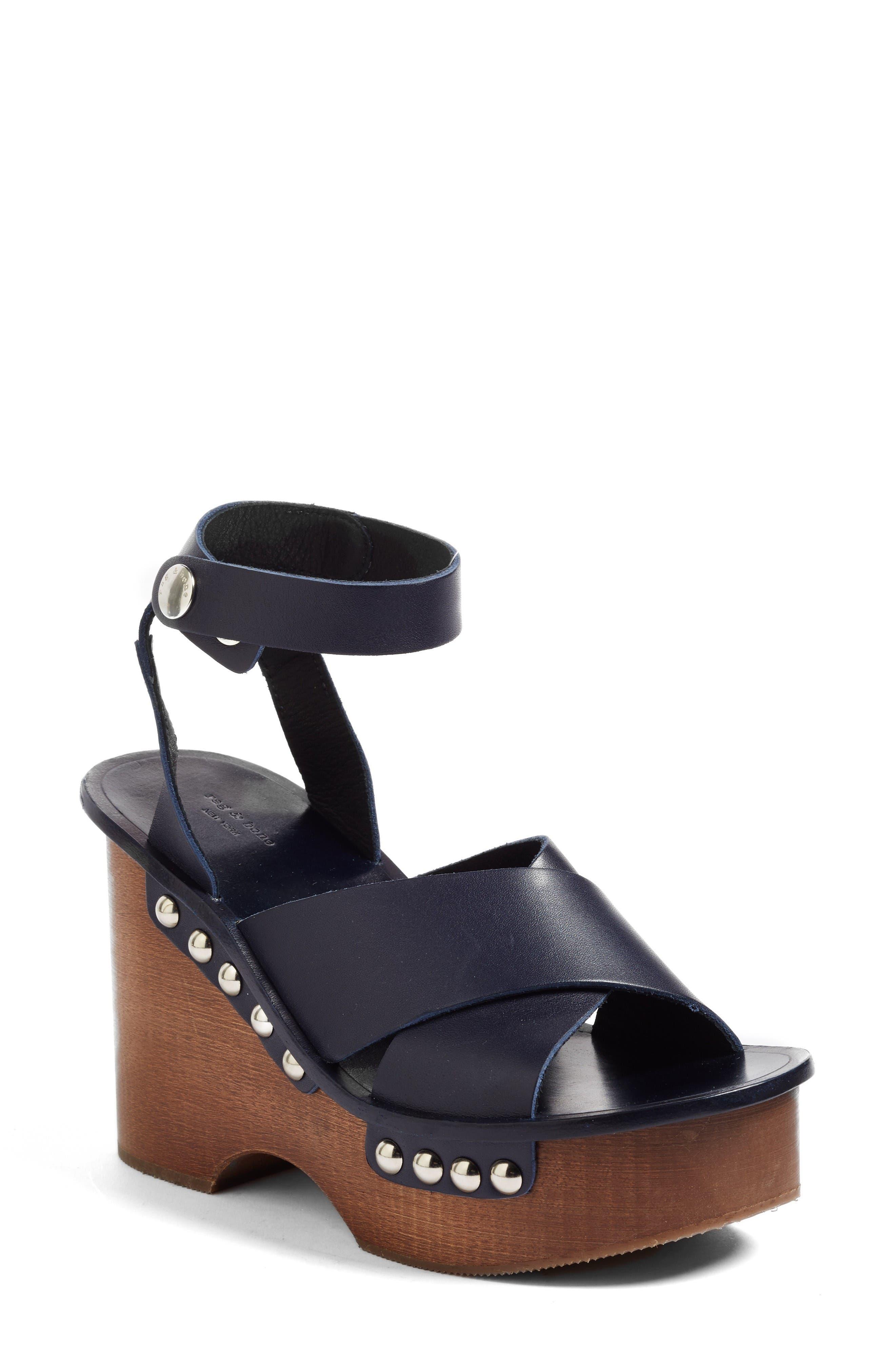 Alternate Image 1 Selected - rag & bone Hester Platform Sandal (Women)