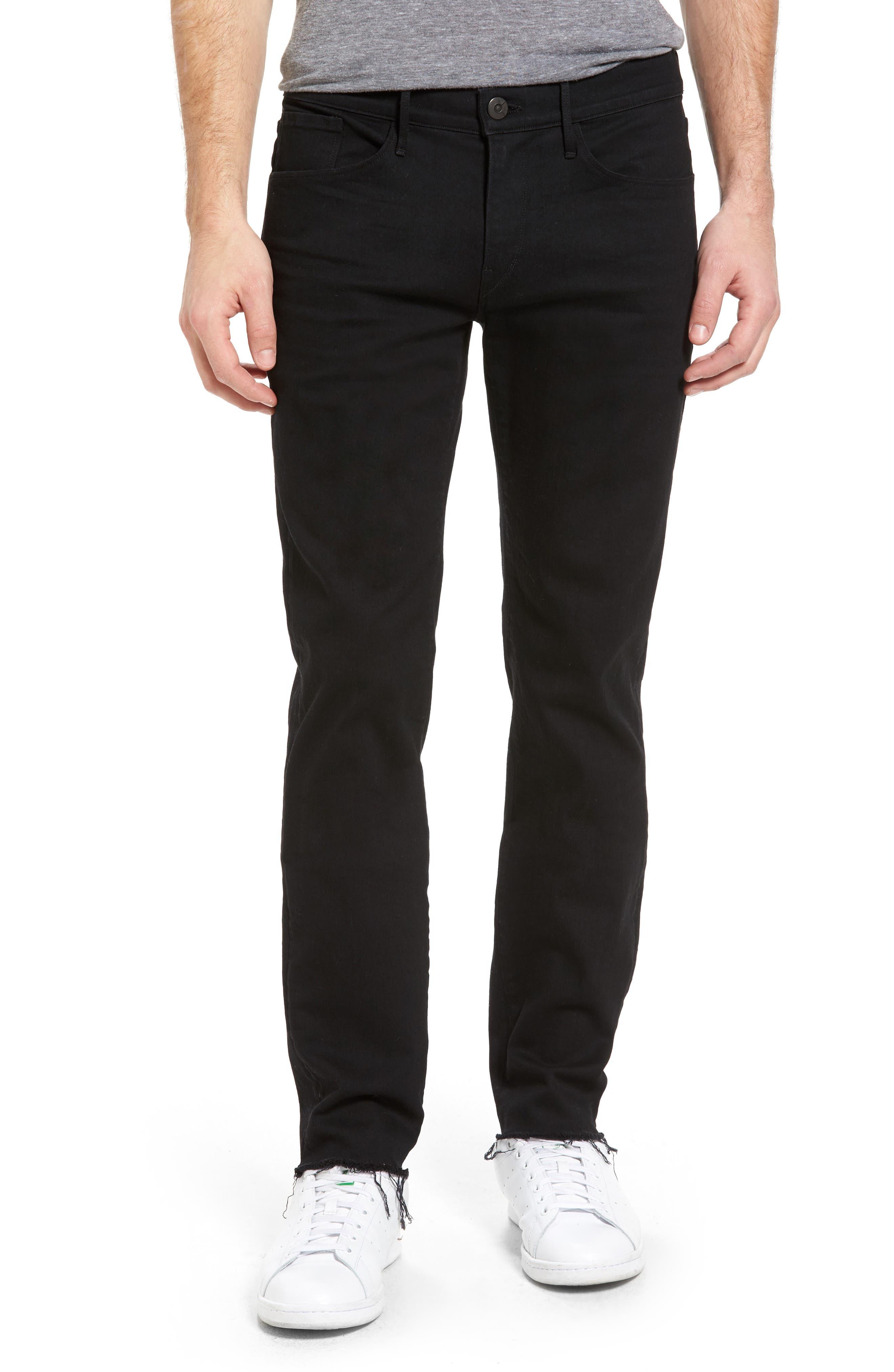 3x1 NYC M5 Skinny Fit Jeans (Black Tear)