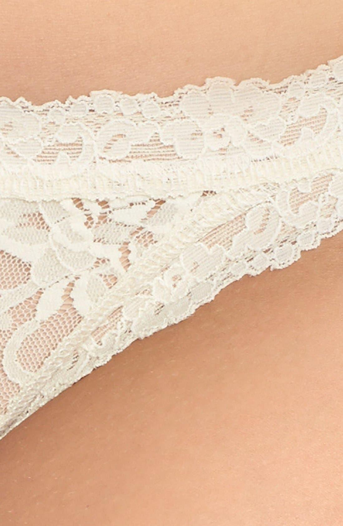 Alternate Image 3  - Hanky Panky 'Signature Lace' Brazilian Bikini