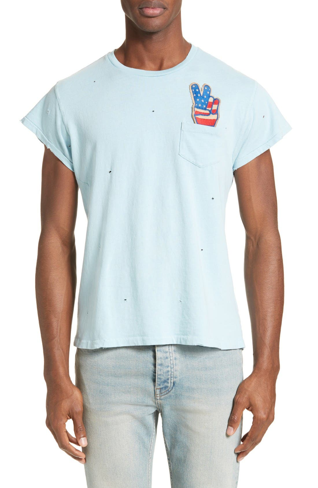 MadeWorn Embroidered Patch T-Shirt