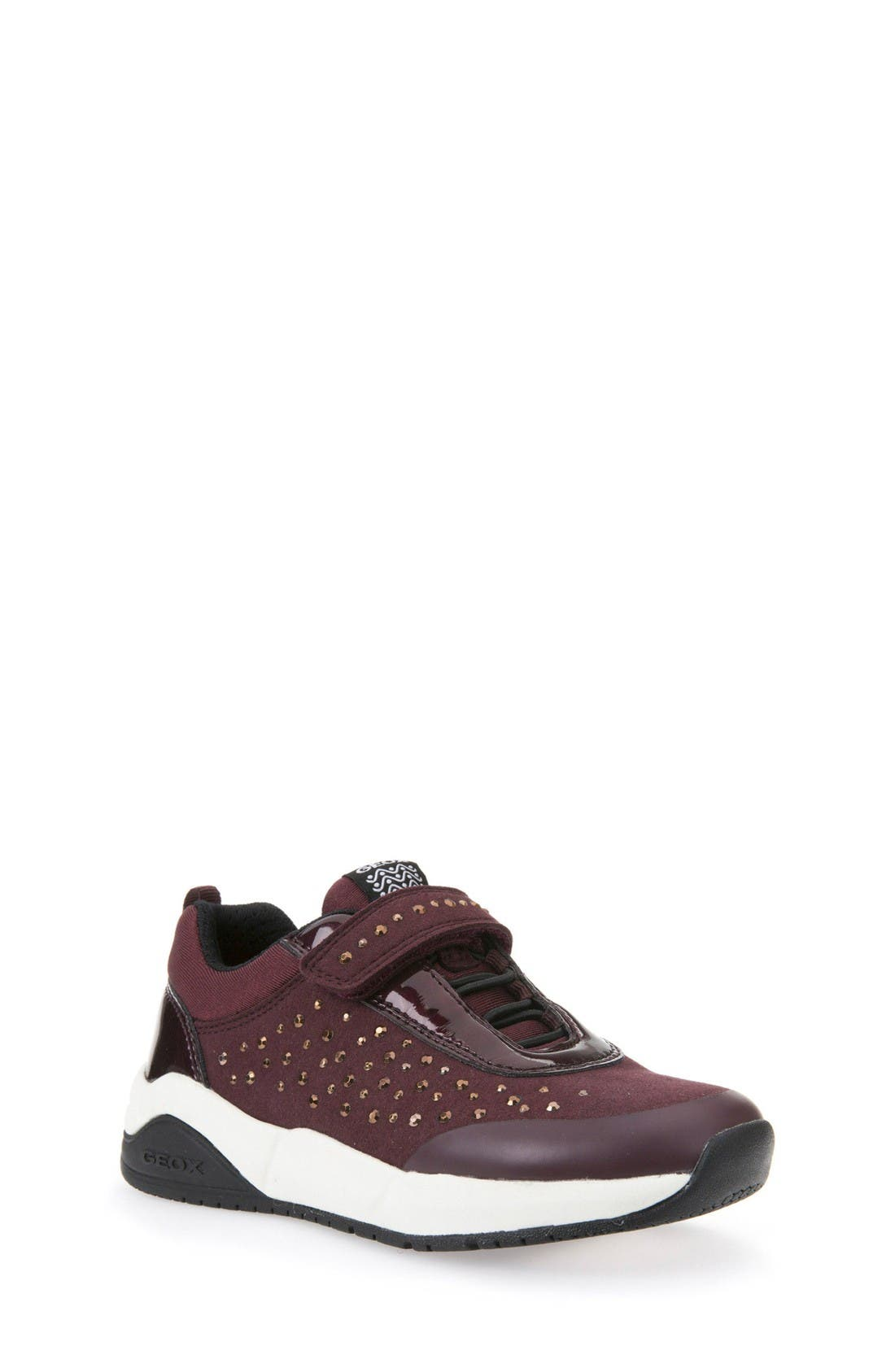 Geox 'Hideaki' Studded Sneaker (Toddler, Little Kid & Big Kid)