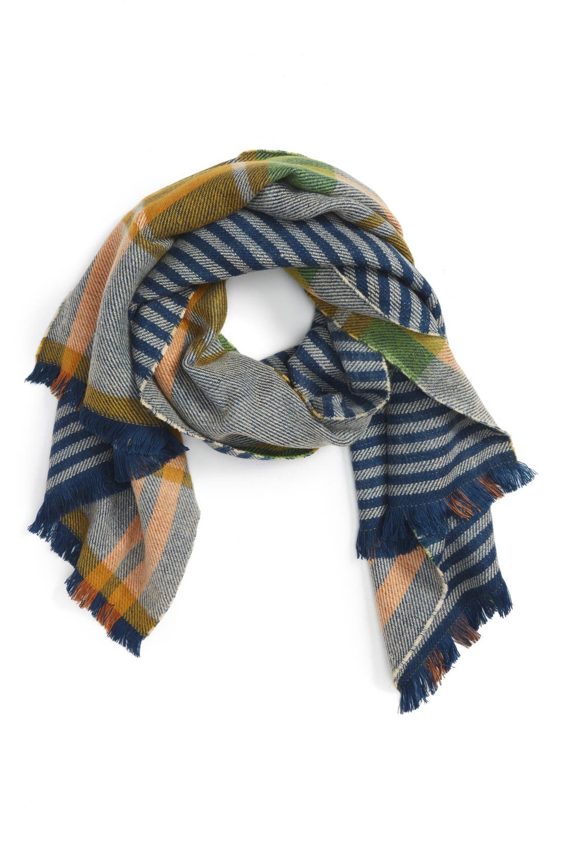 Alternate Image 1 Selected - Shiraleah Sekai Plaid Scarf