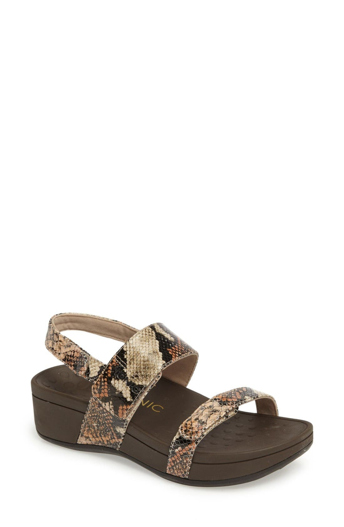 VIONIC Bolinas Platform Sandal