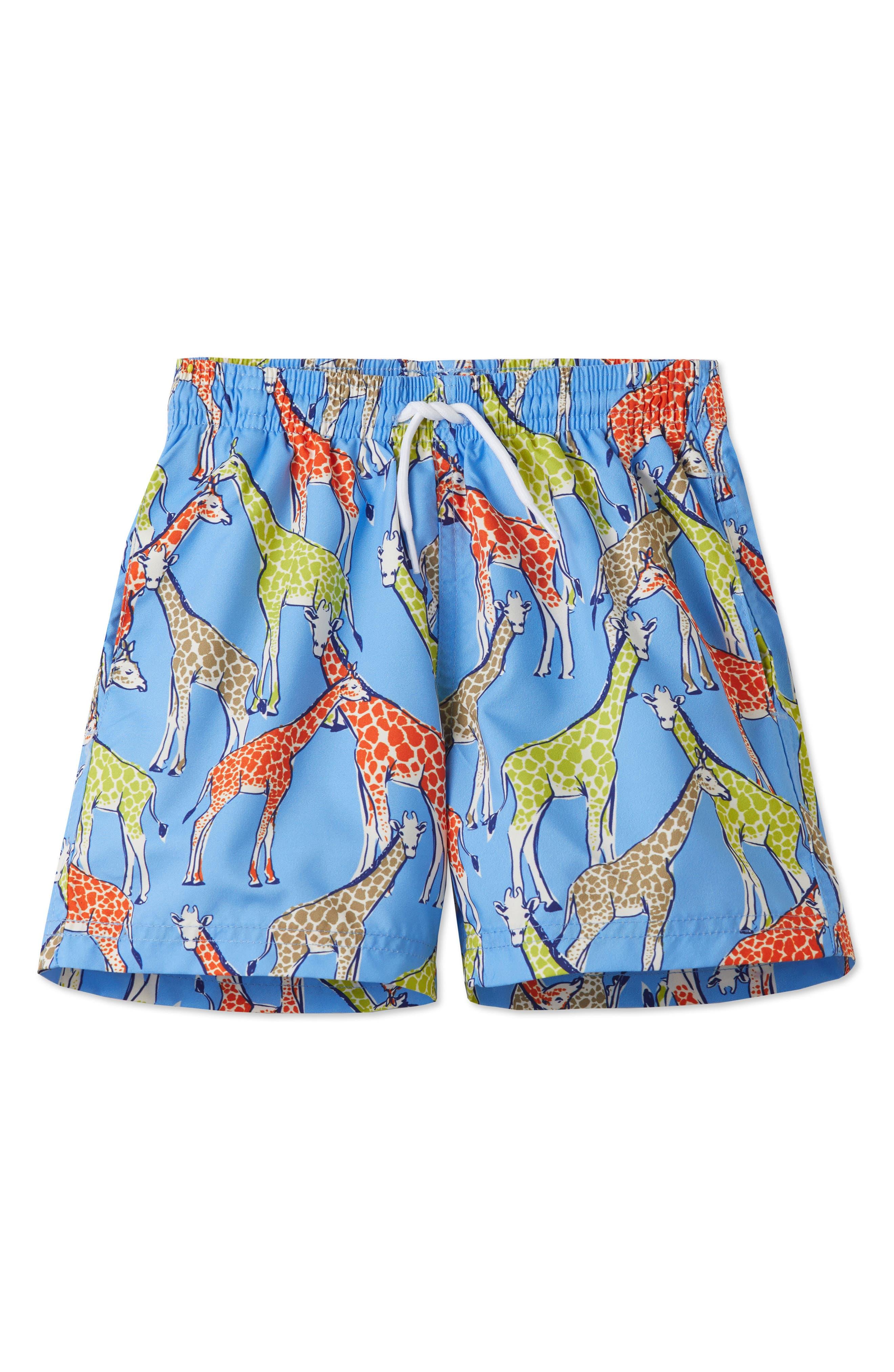 STELLA COVE Giraffe Swim Trunks