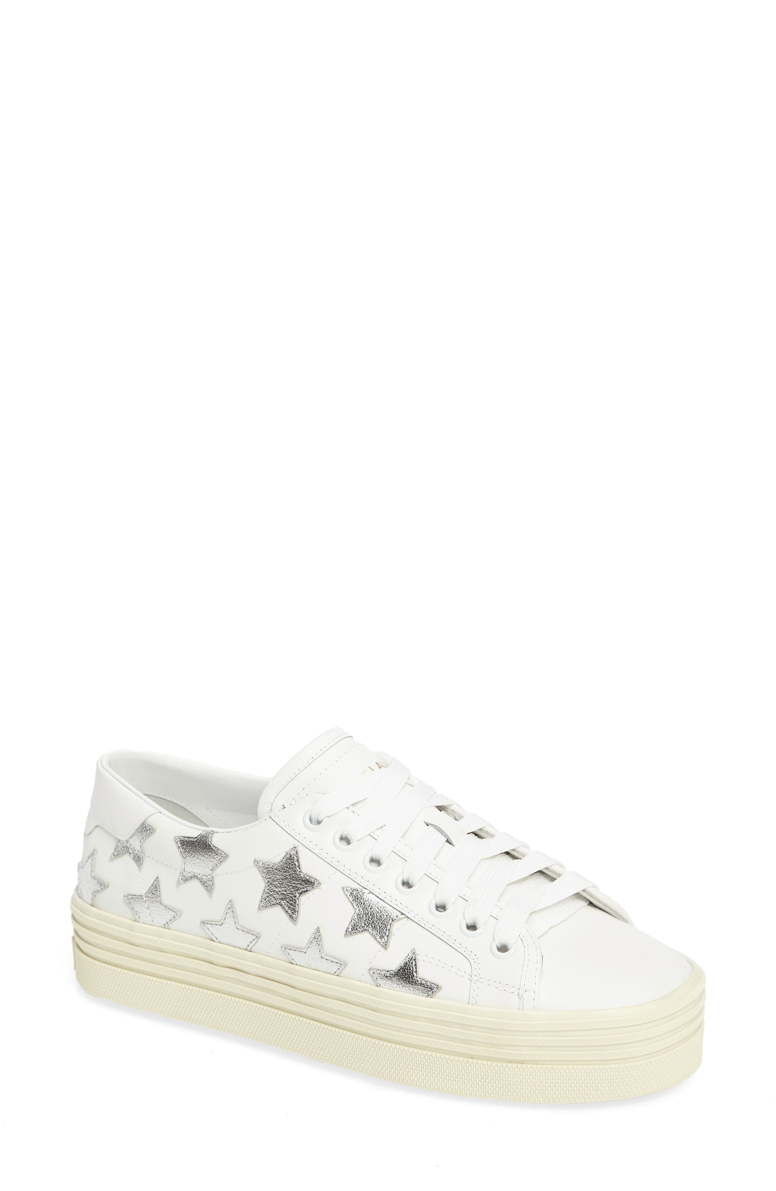 Saint Laurent Double Court Classic Sneaker (Women)