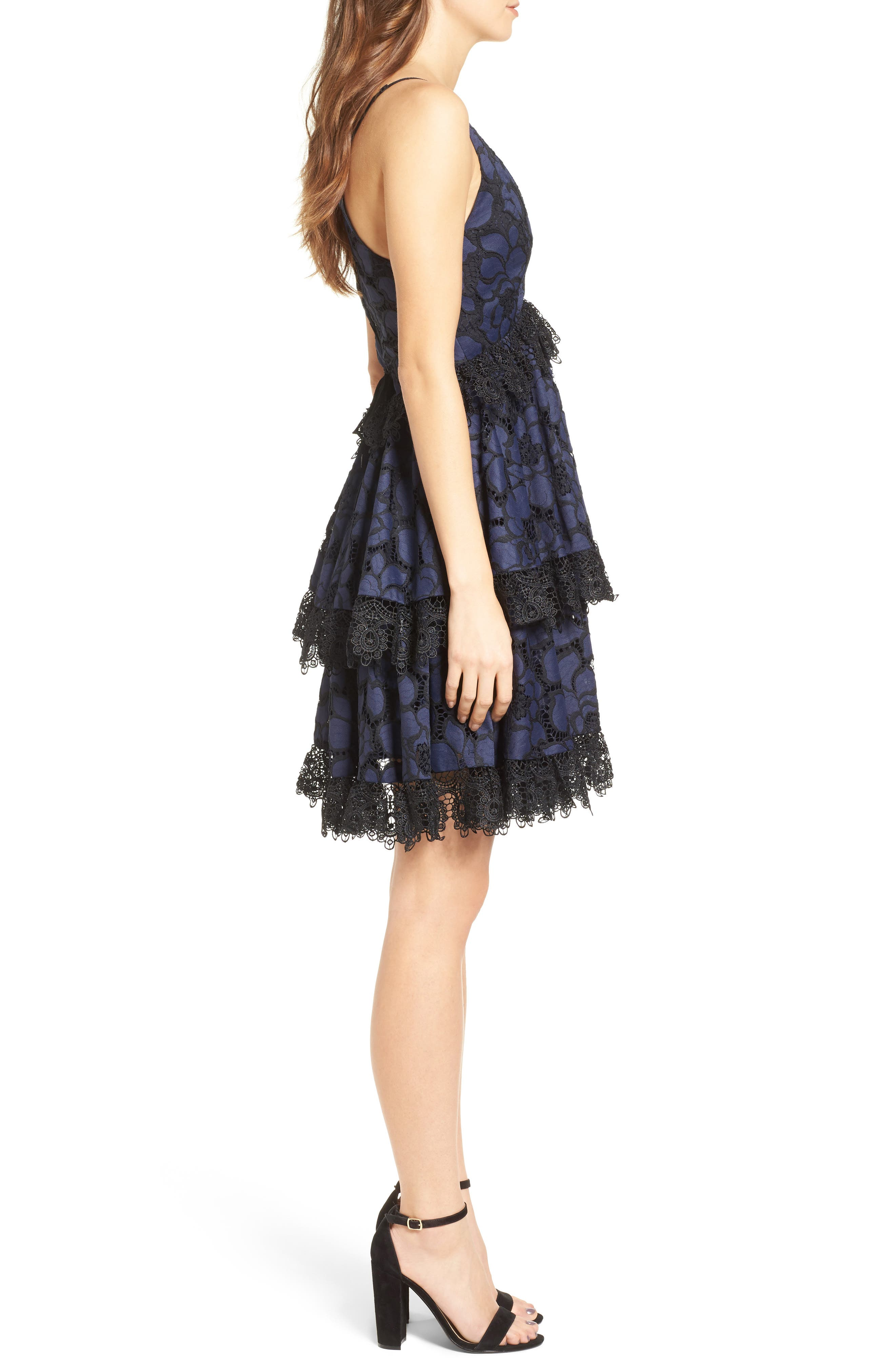 Alternate Image 3  - KENDALL + KYLIE Lace Babydoll Dress