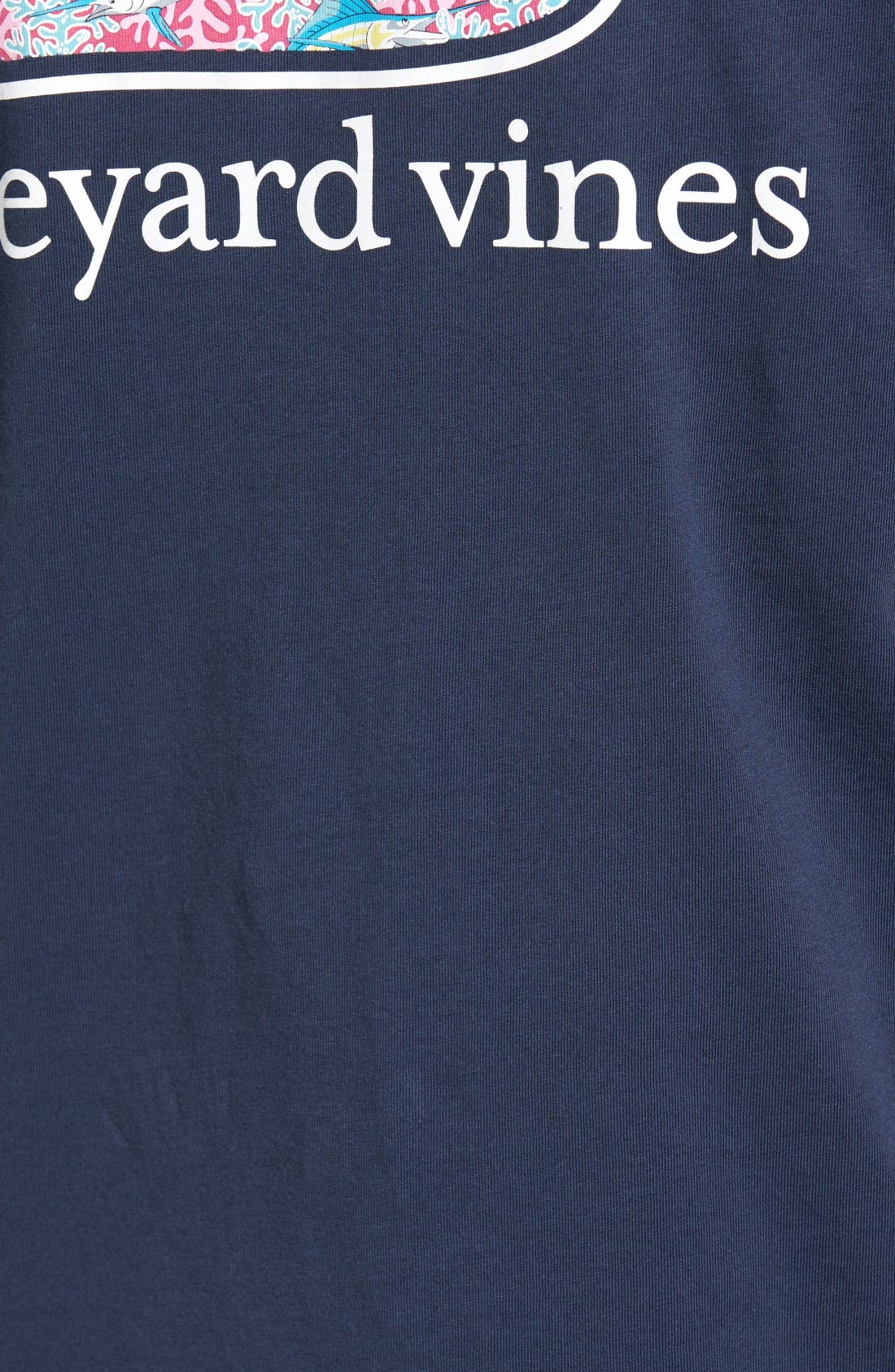 Alternate Image 4  - Vineyard Vines Marlin & Coral T-Shirt