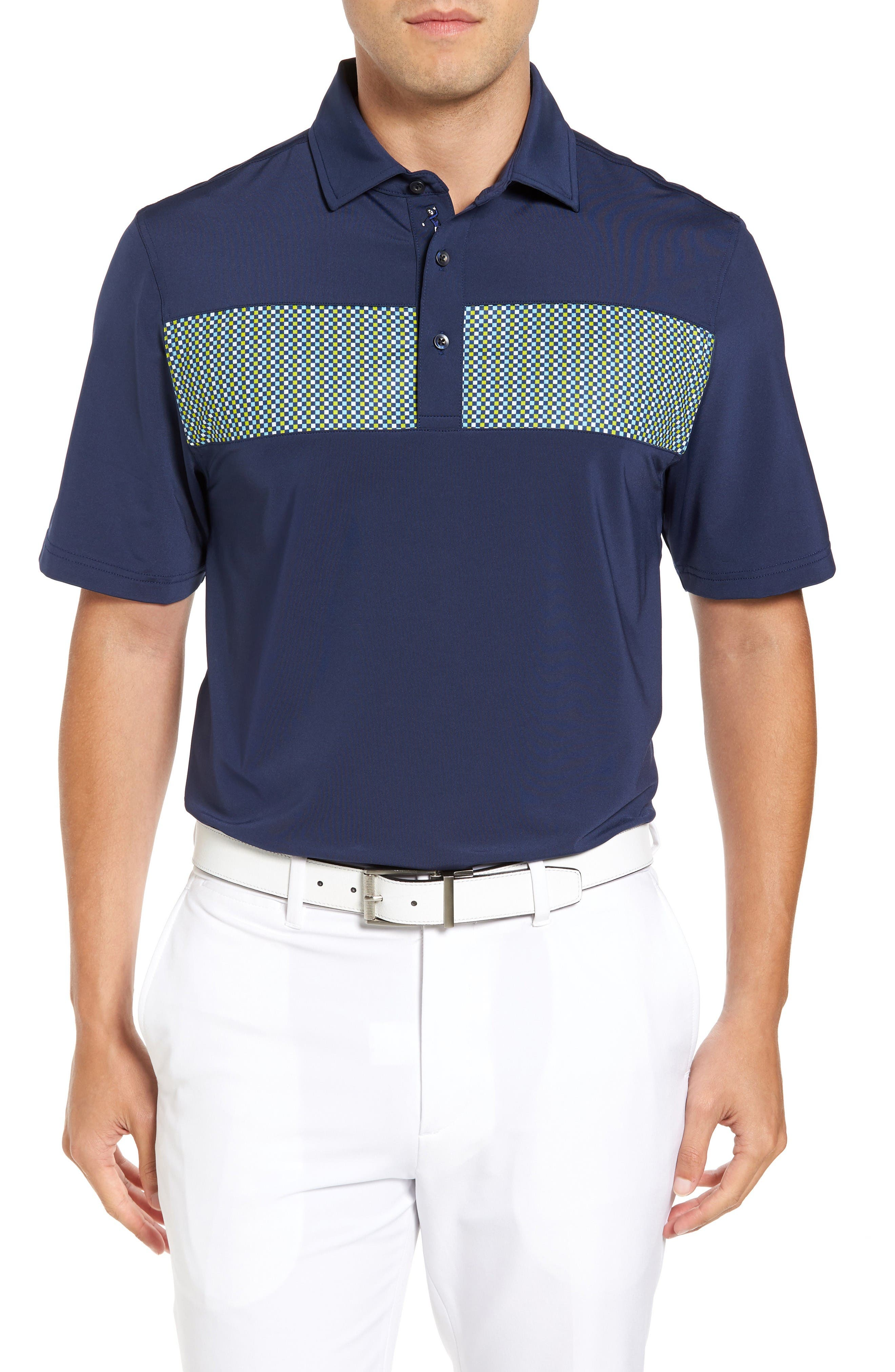 Bobby Jones XH20 Dempsey Stripe Stretch Golf Polo